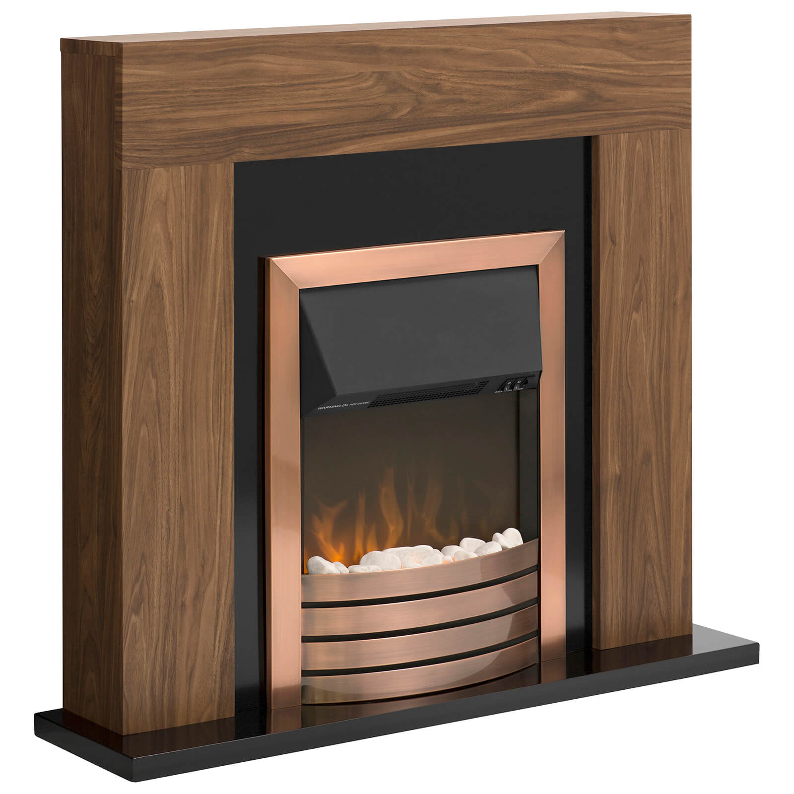 Warmlite WL45025 Sailsbury Fireplace Suite - Dark Wood