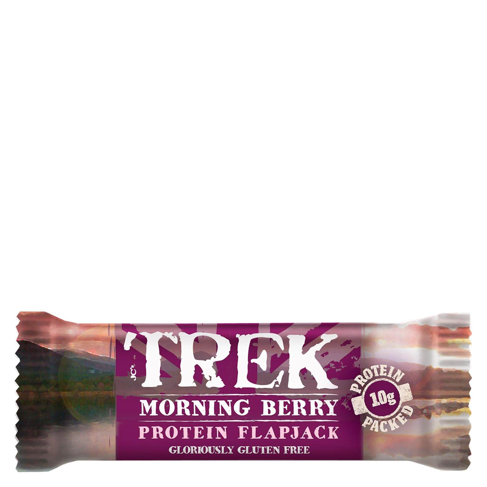Trek Morning Berry Protein Flapjacks
