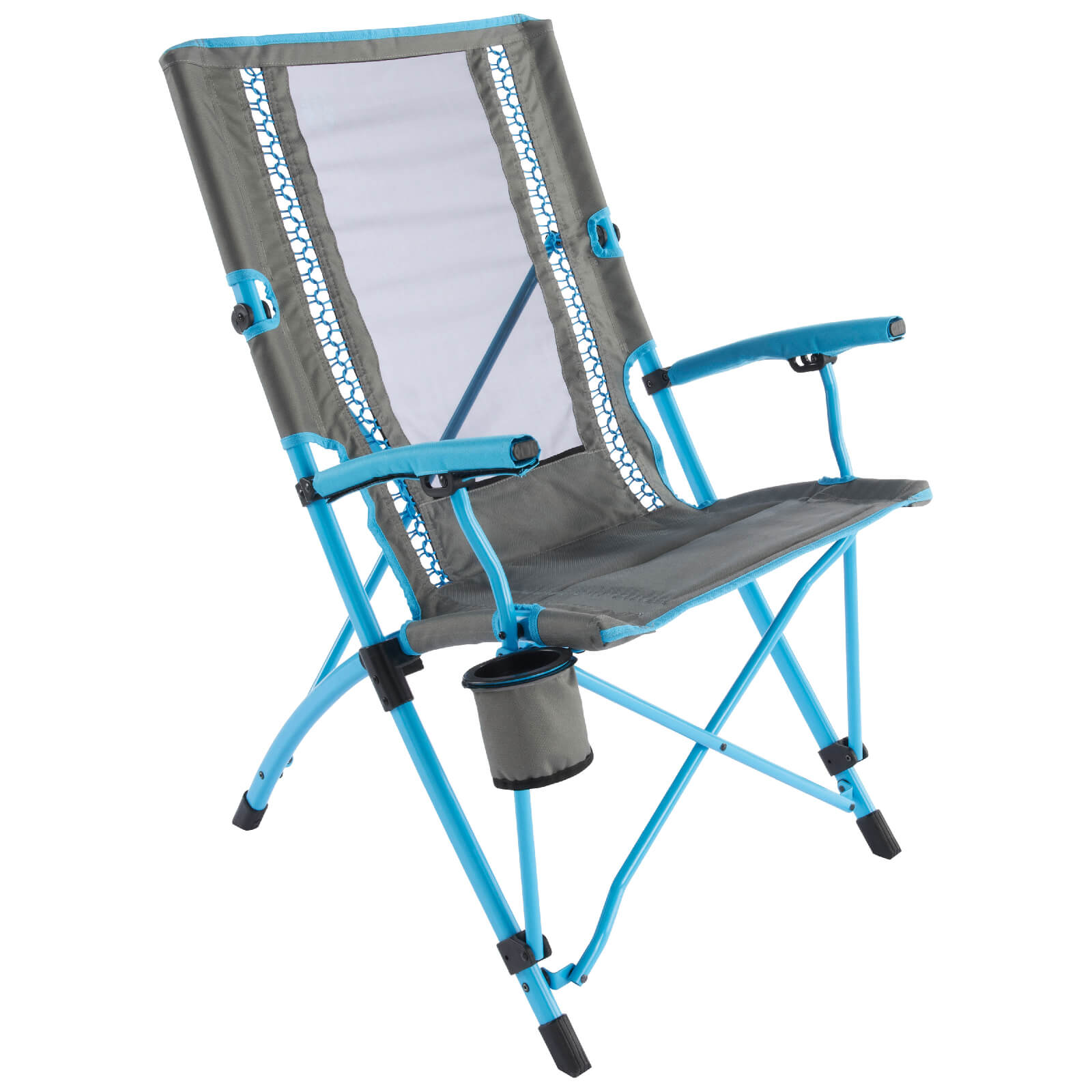 Coleman Bungee Interlock Sling Chair - Blue