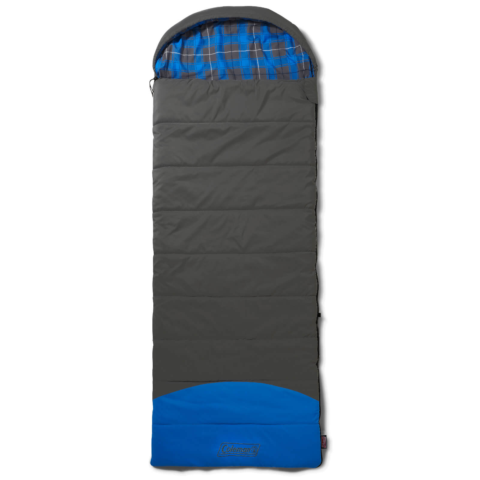 Coleman Basalt Sleeping Bag - Grey/Blue - Single