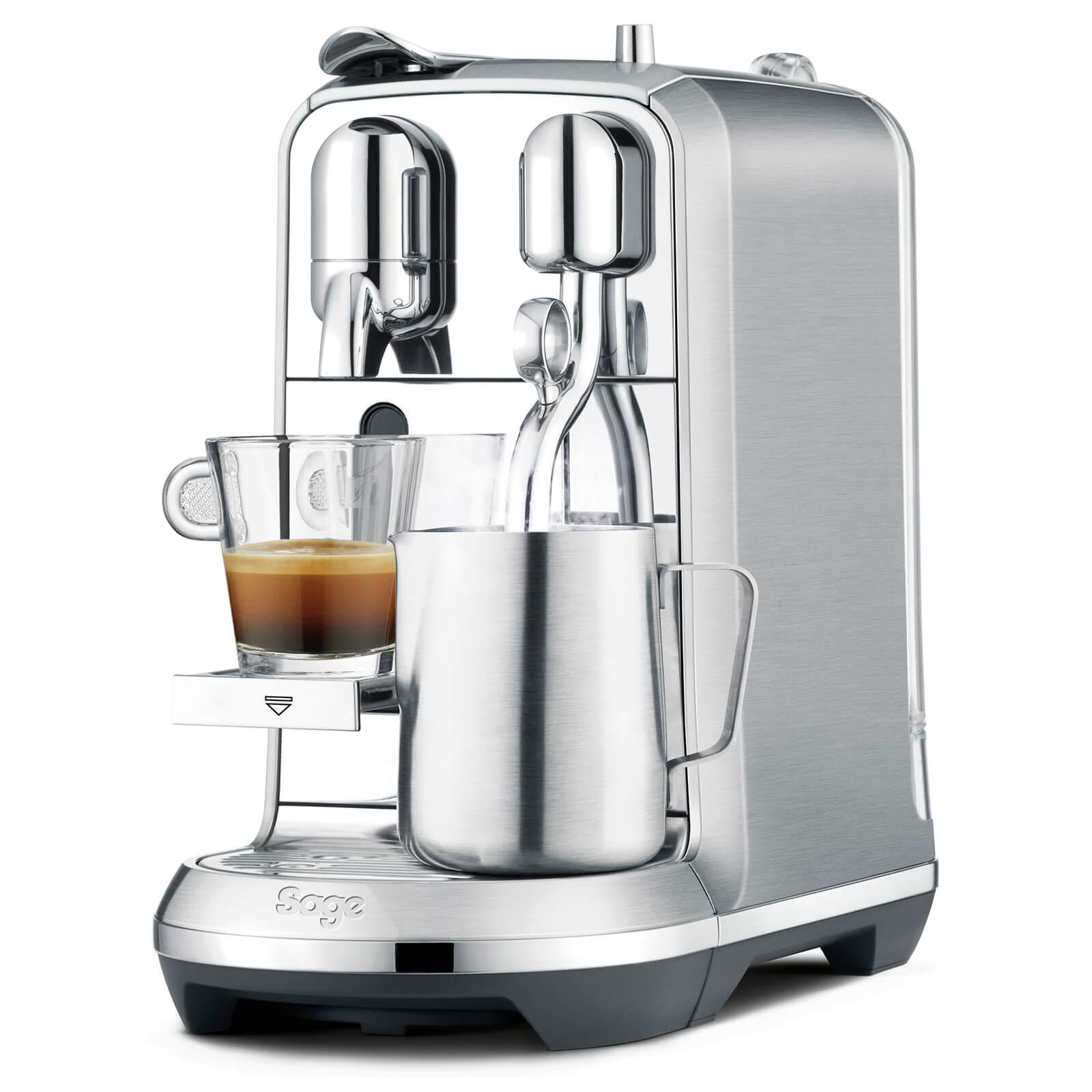Sage Bne800bss Nespresso Creatista Plus Coffee Machine Stainless