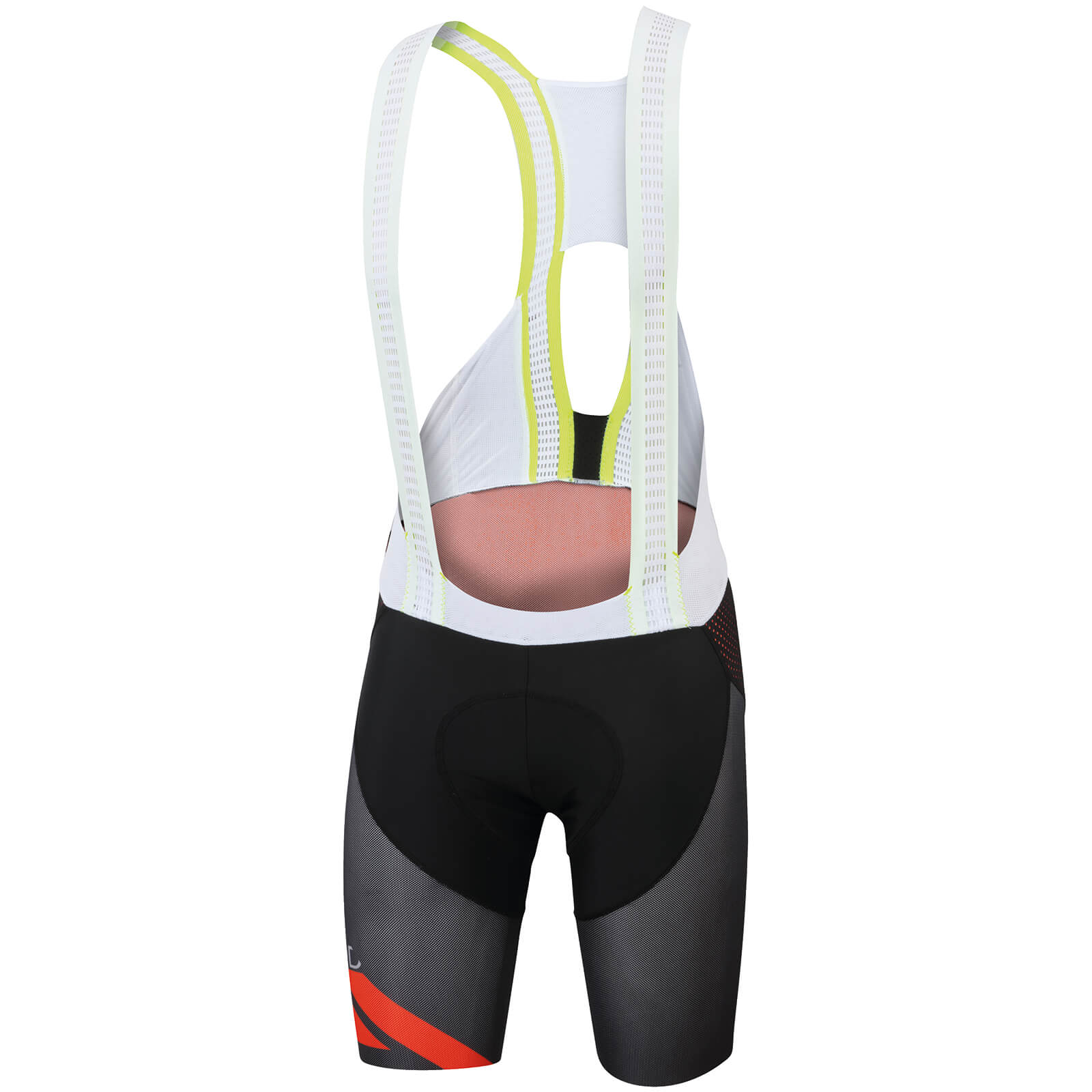 Sportful R&D Cima Bib Shorts - Black/Fire Red