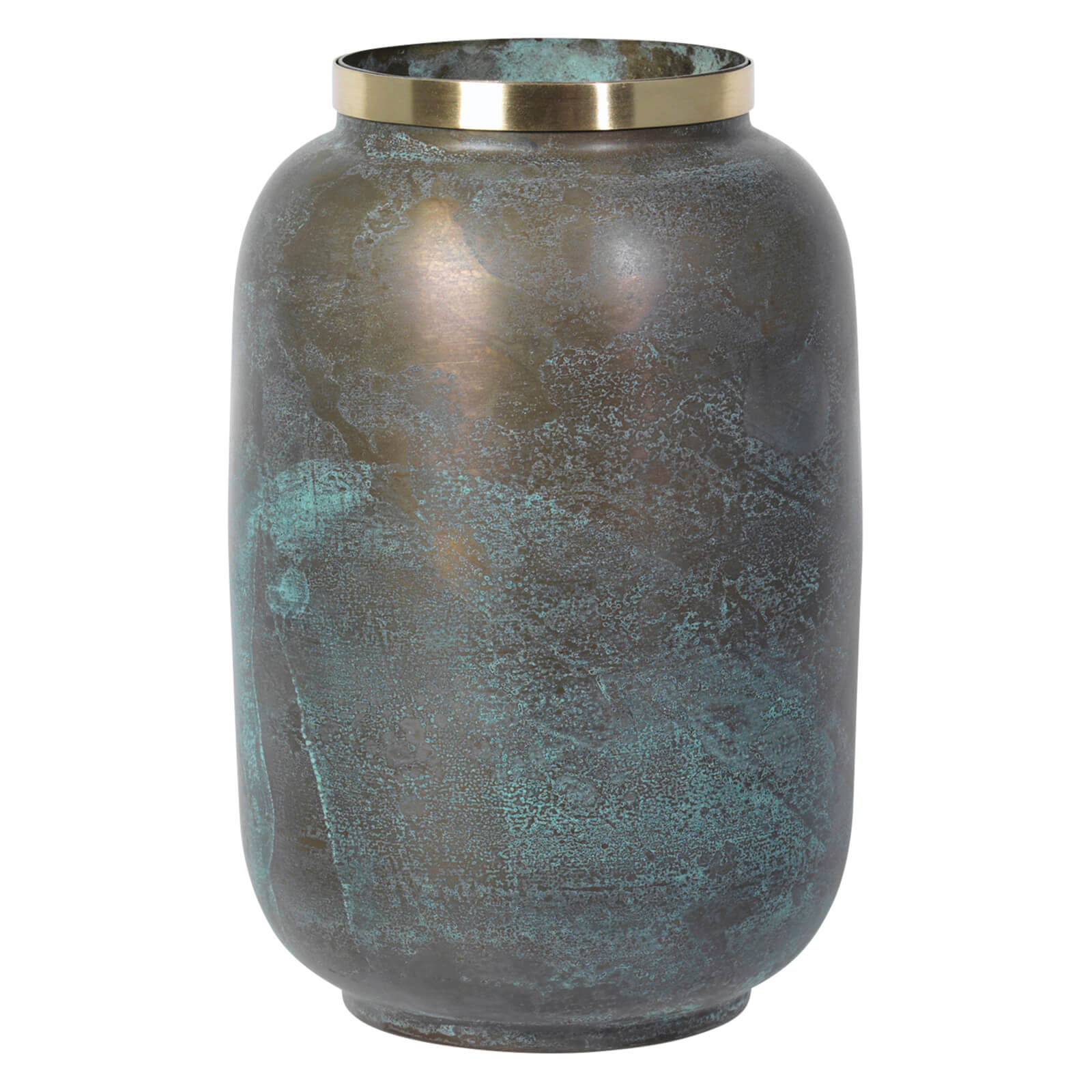 broste copenhagen natalie brass vase iwoot. Black Bedroom Furniture Sets. Home Design Ideas