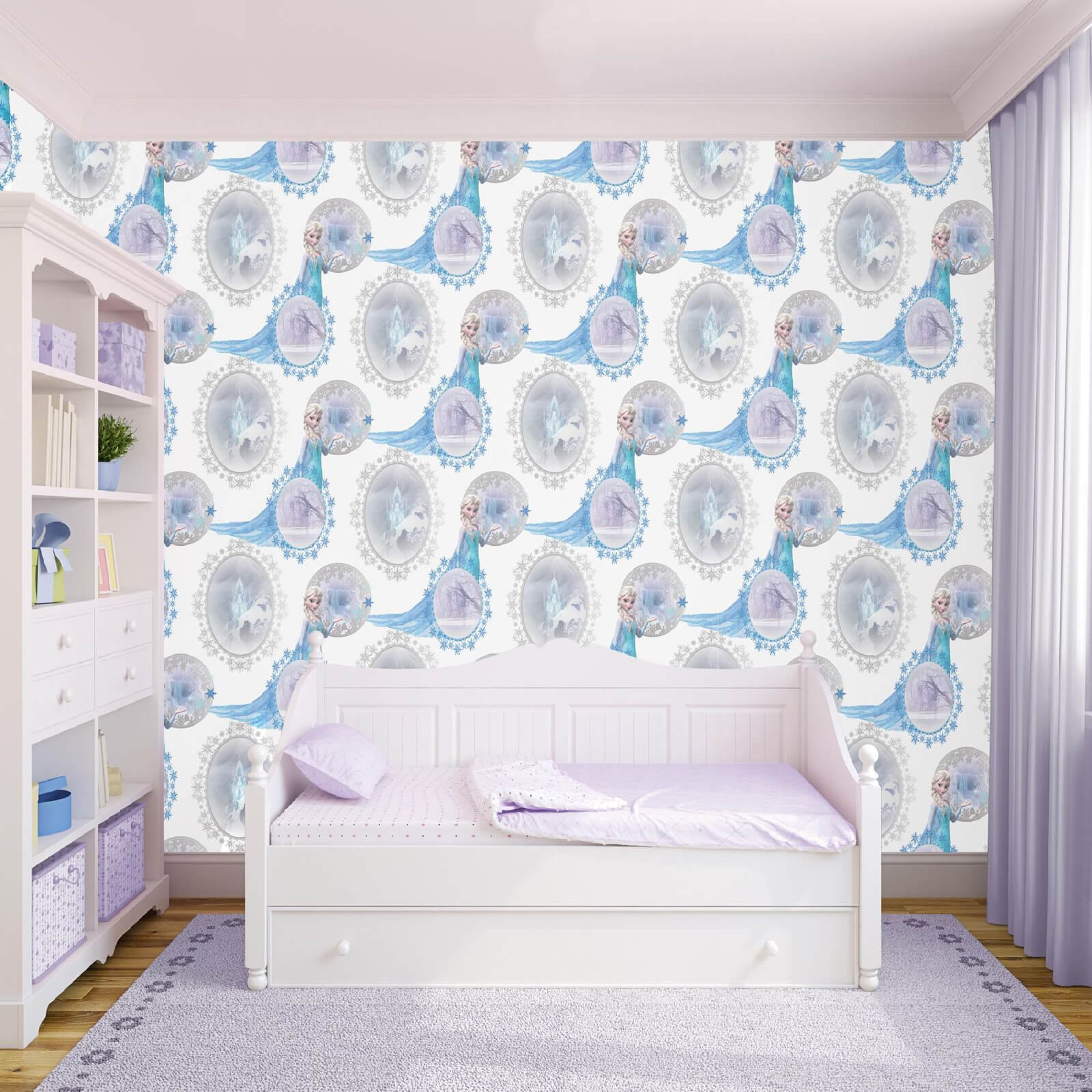 Disney Frozen Elsa Scene Subtle Shimmer Highlights Wallpaper