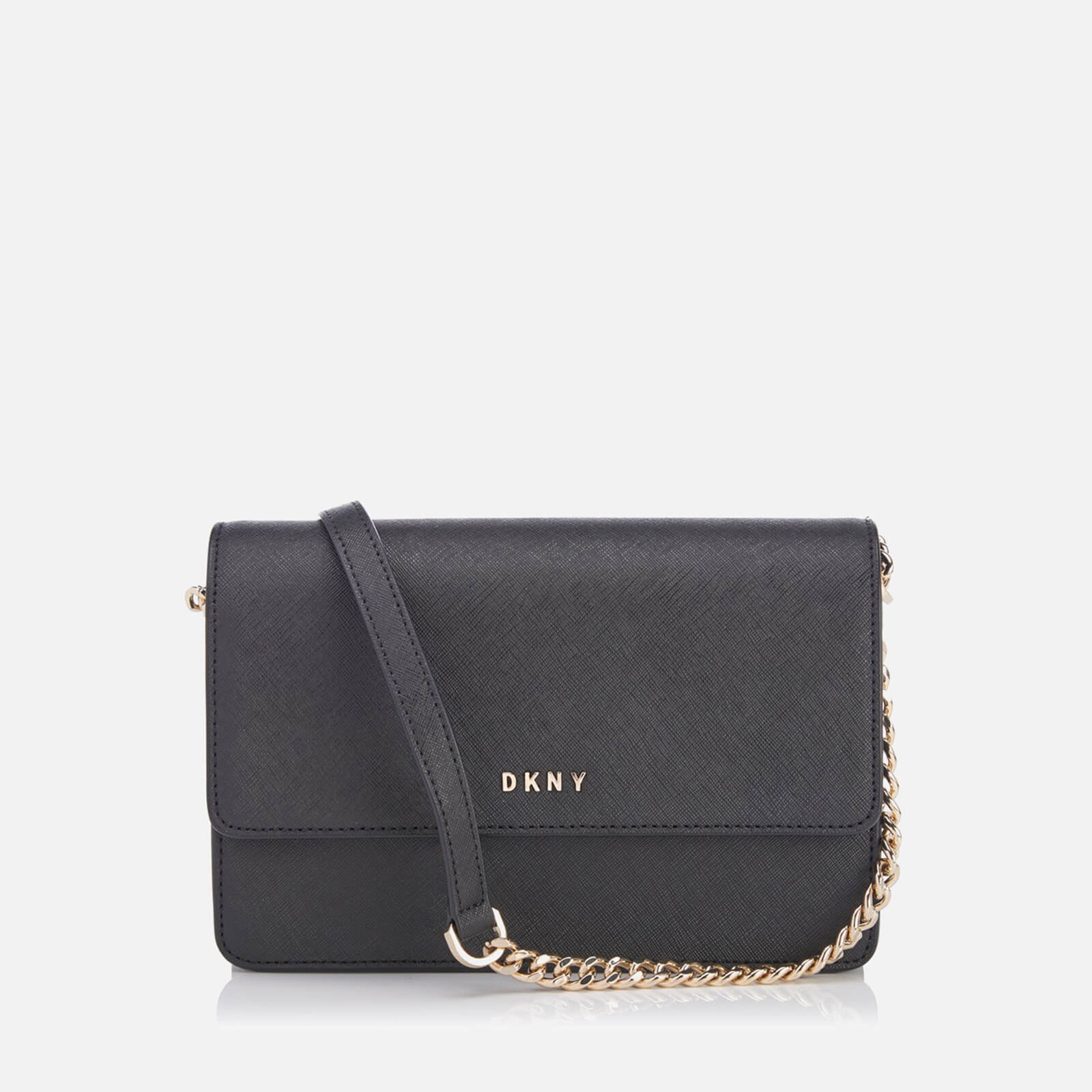 d9f978659 DKNY Women's Bryant Park Small Flap Cross Body Bag - Black - Free UK  Delivery over £50