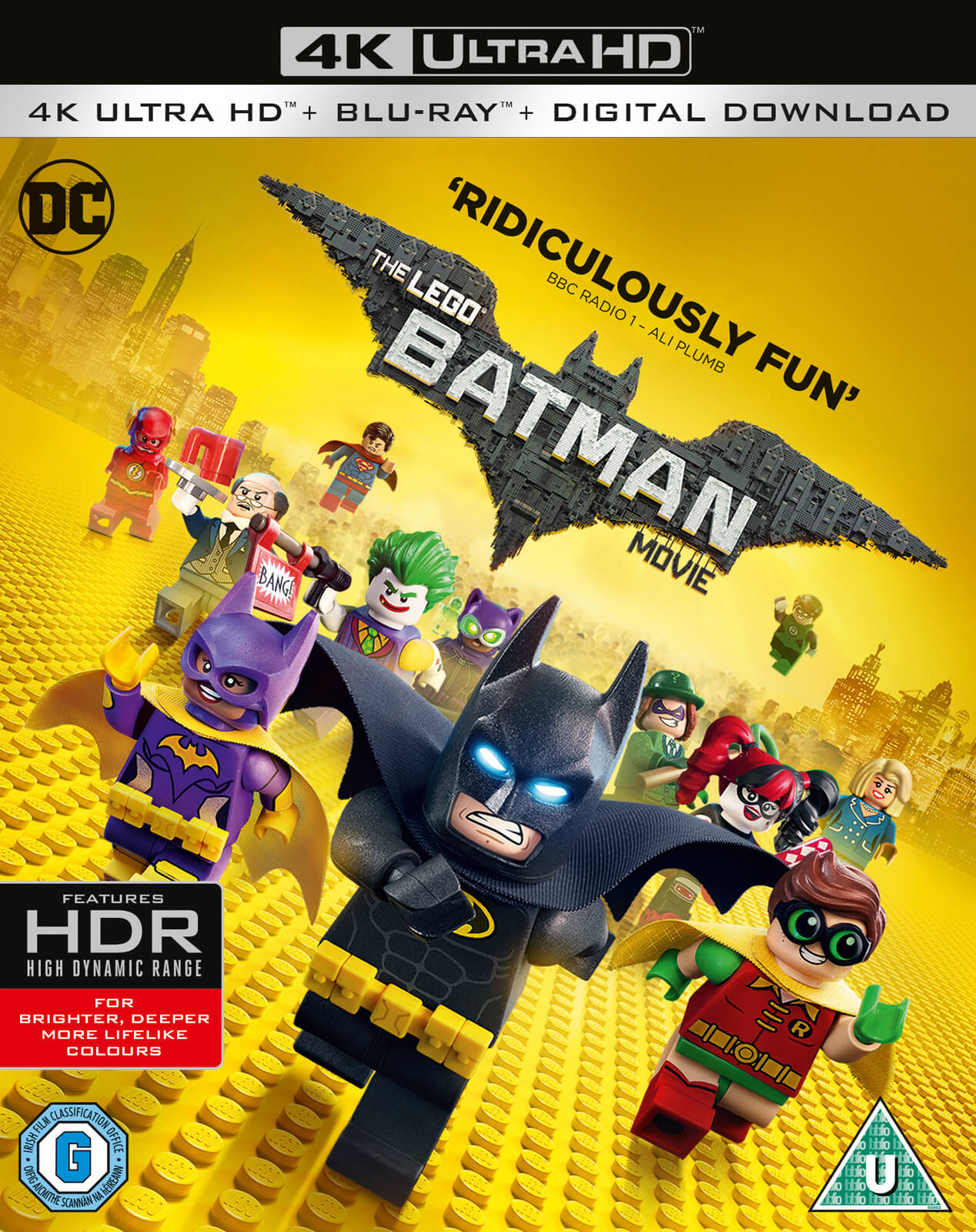 The Lego Batman Movie 4k Ultra Hd Blu Ray Zavvi Us
