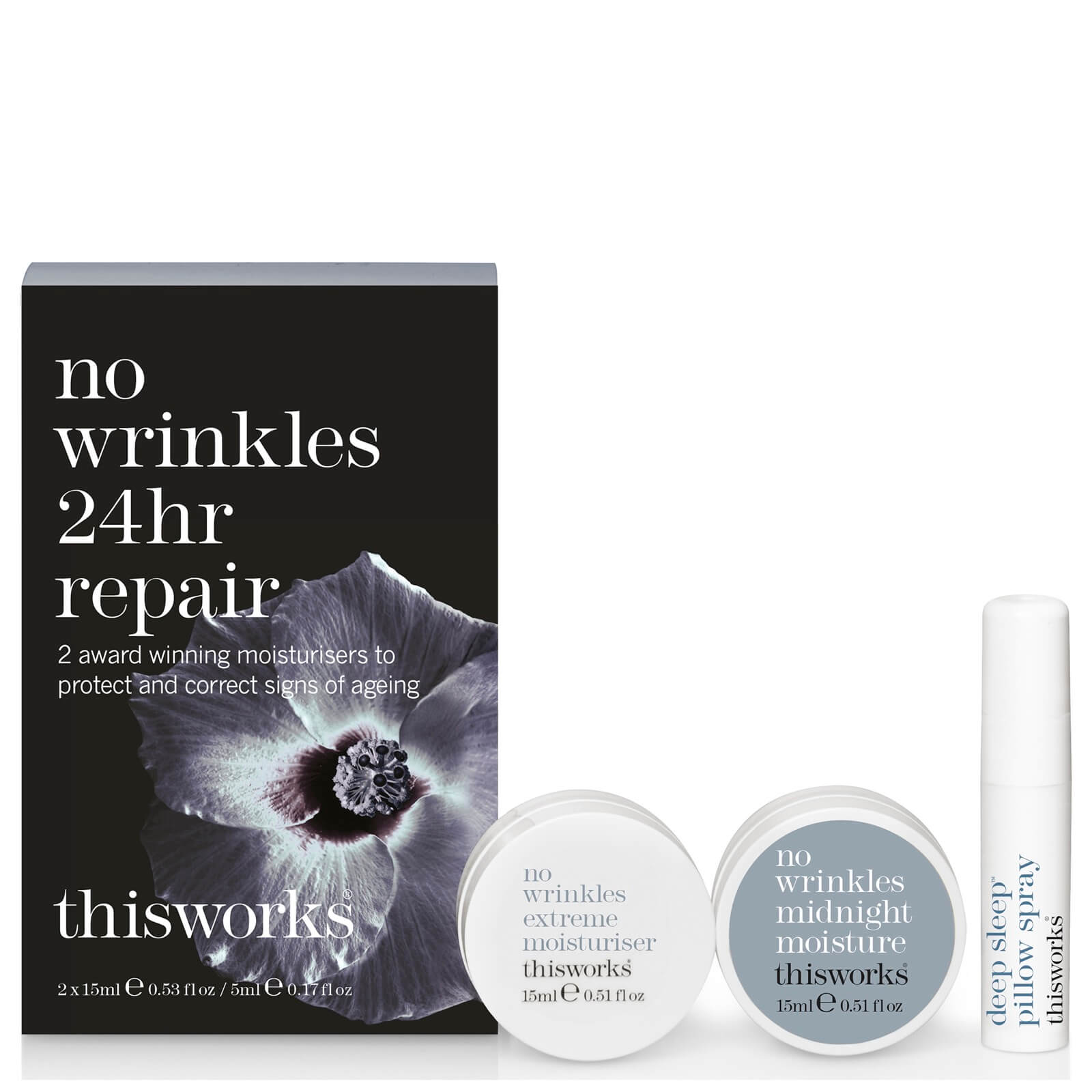 this works No Wrinkles 24hr Repair Kit