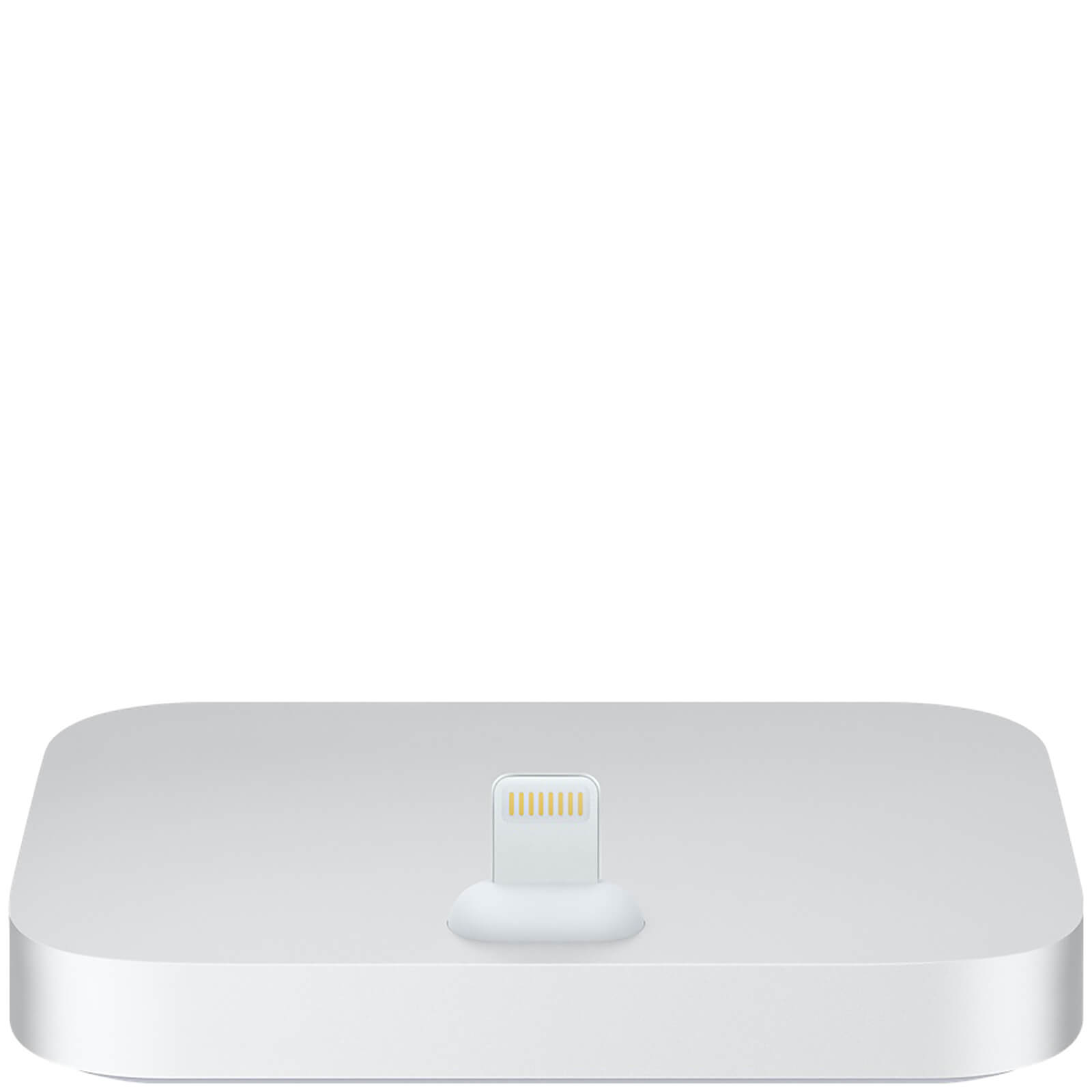 iPhone Lightning Dock -Argenté