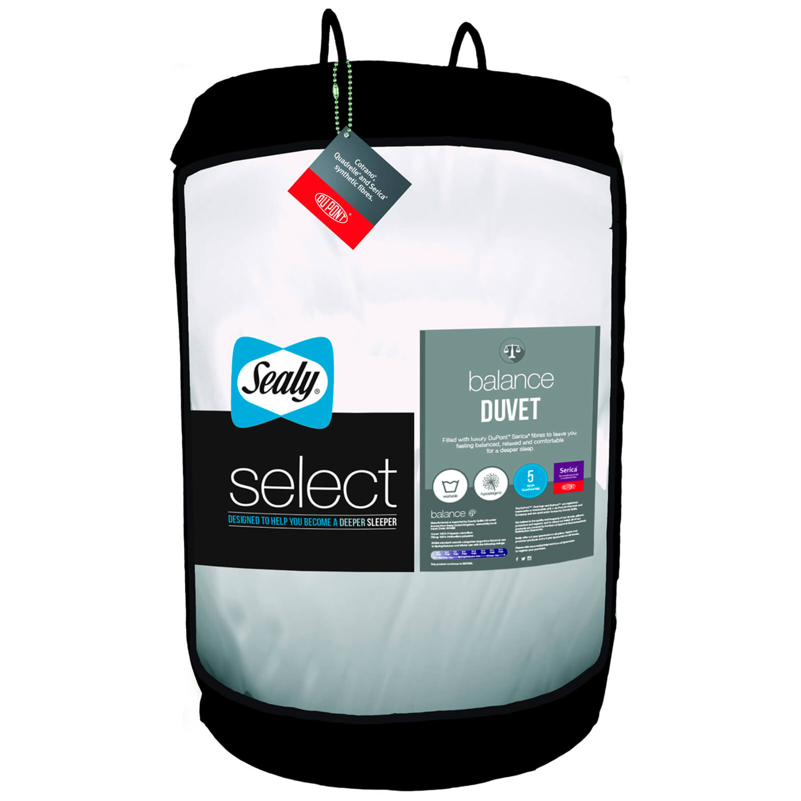 Sealy Select Balance Duvet - 10.5 Tog