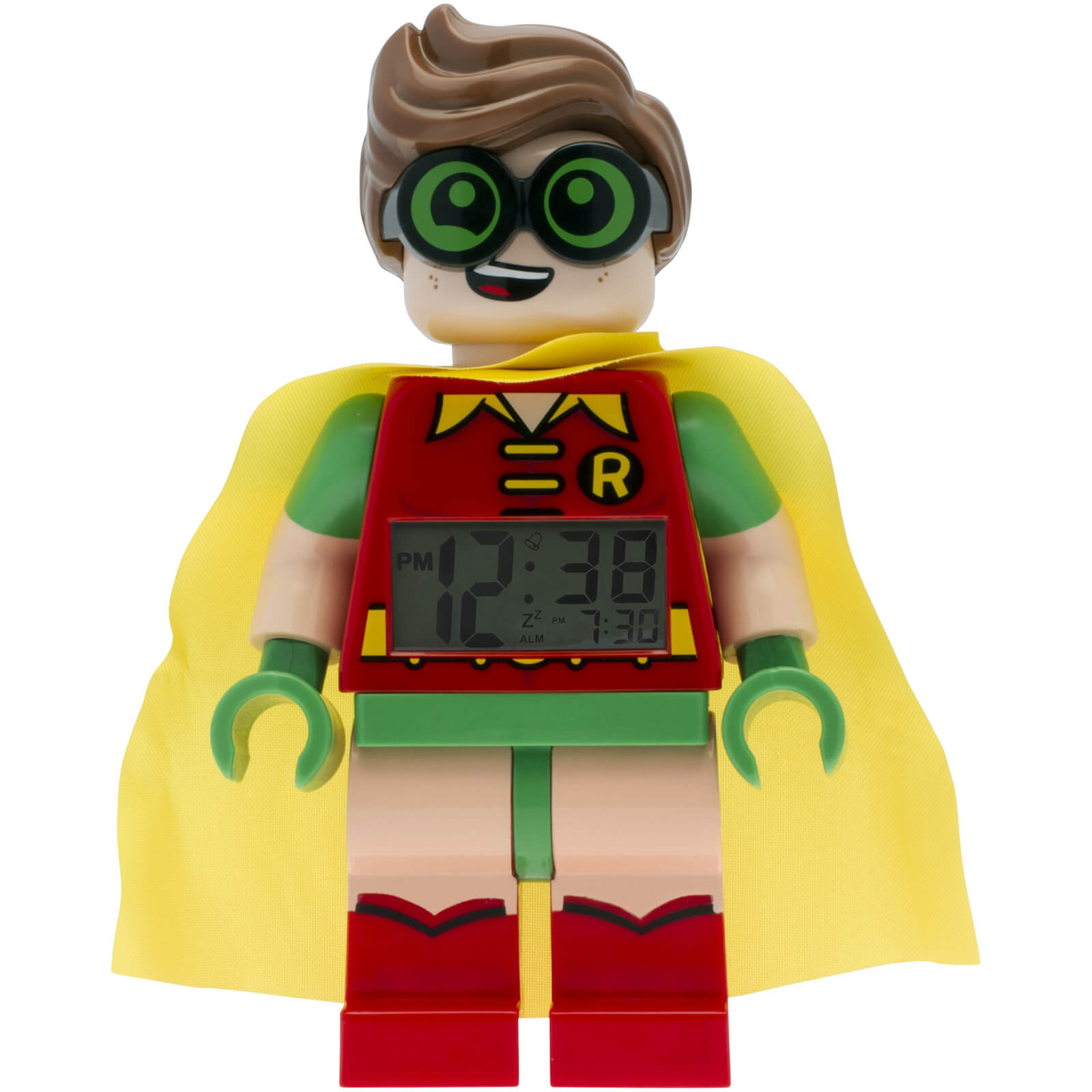 LEGO Batman Movie: Robin Minifigure Clock
