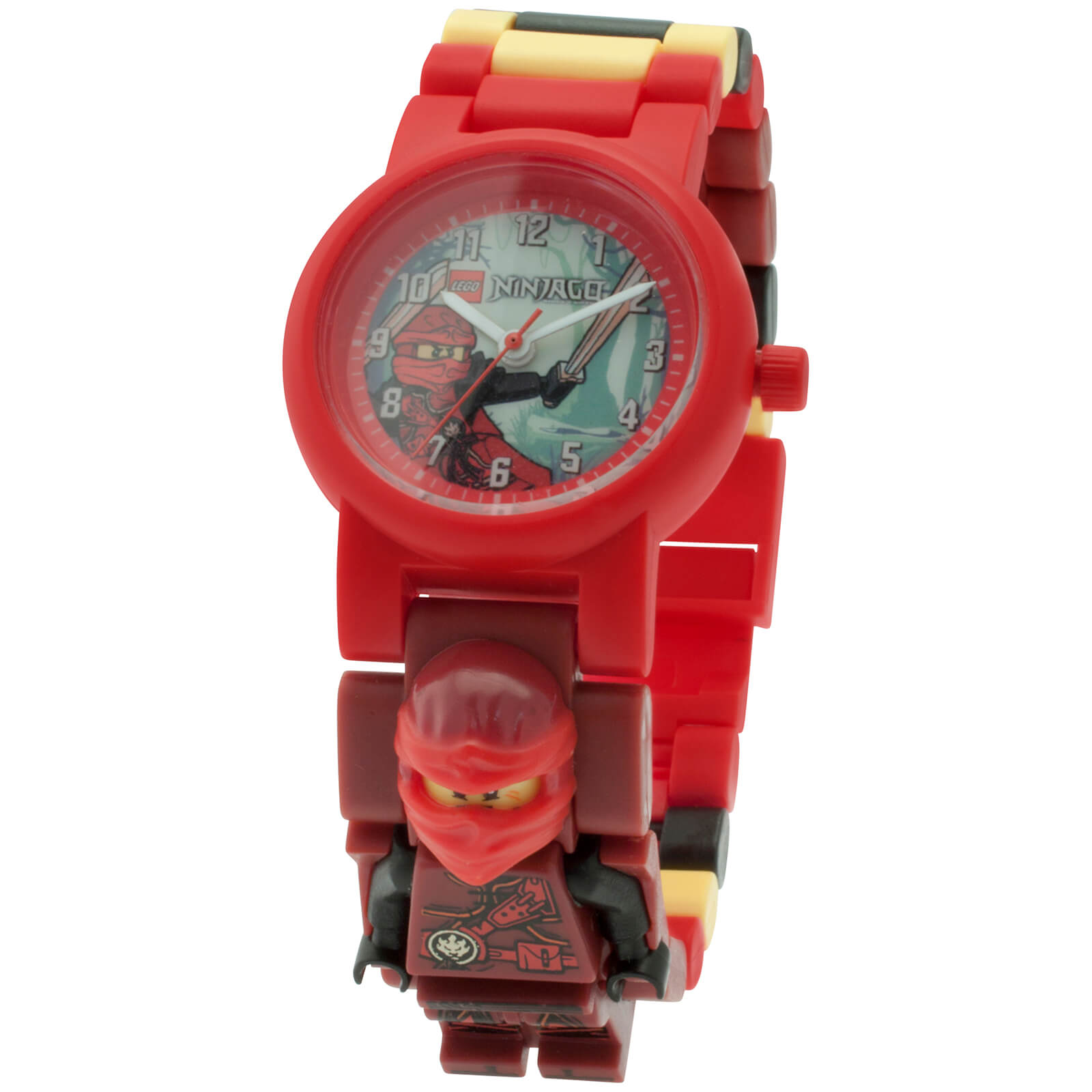 LEGO Ninjago: Time Twins Kai Minifigure Link Watch