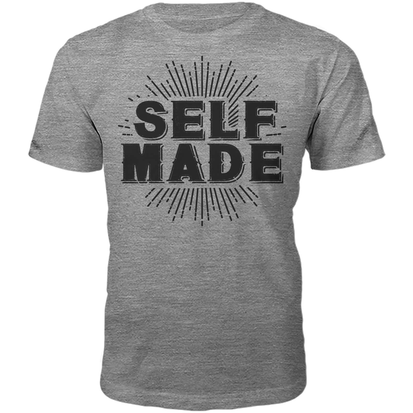 T-Shirt Unisexe Self Made -Gris