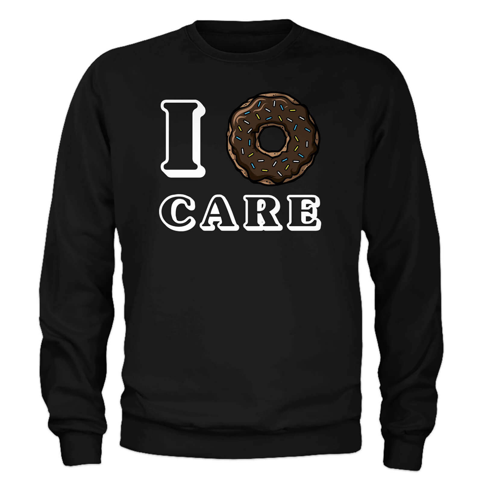 Sweat Homme I Donut Care - Noir