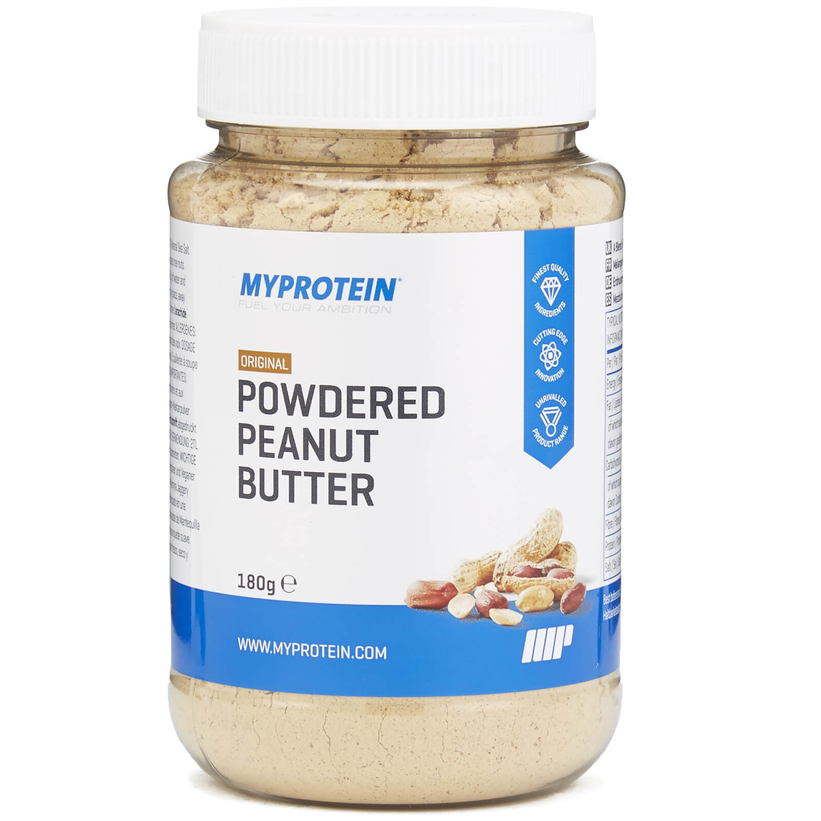 Powdered Peanut Butter - Original - 180g