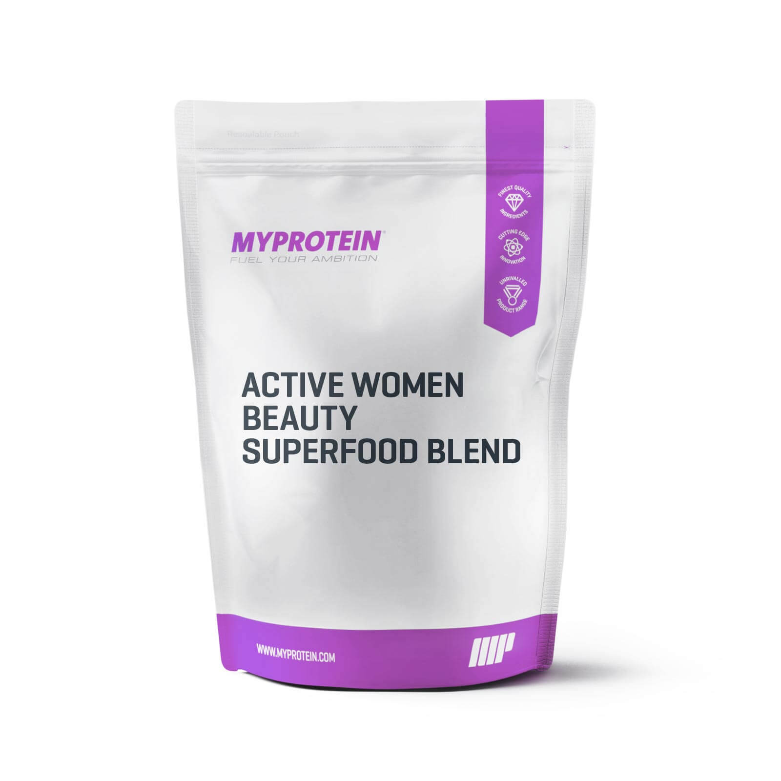 Active Women Beauty Superfood Blend - Vanilla, Acai & Maqui Berry - 500g