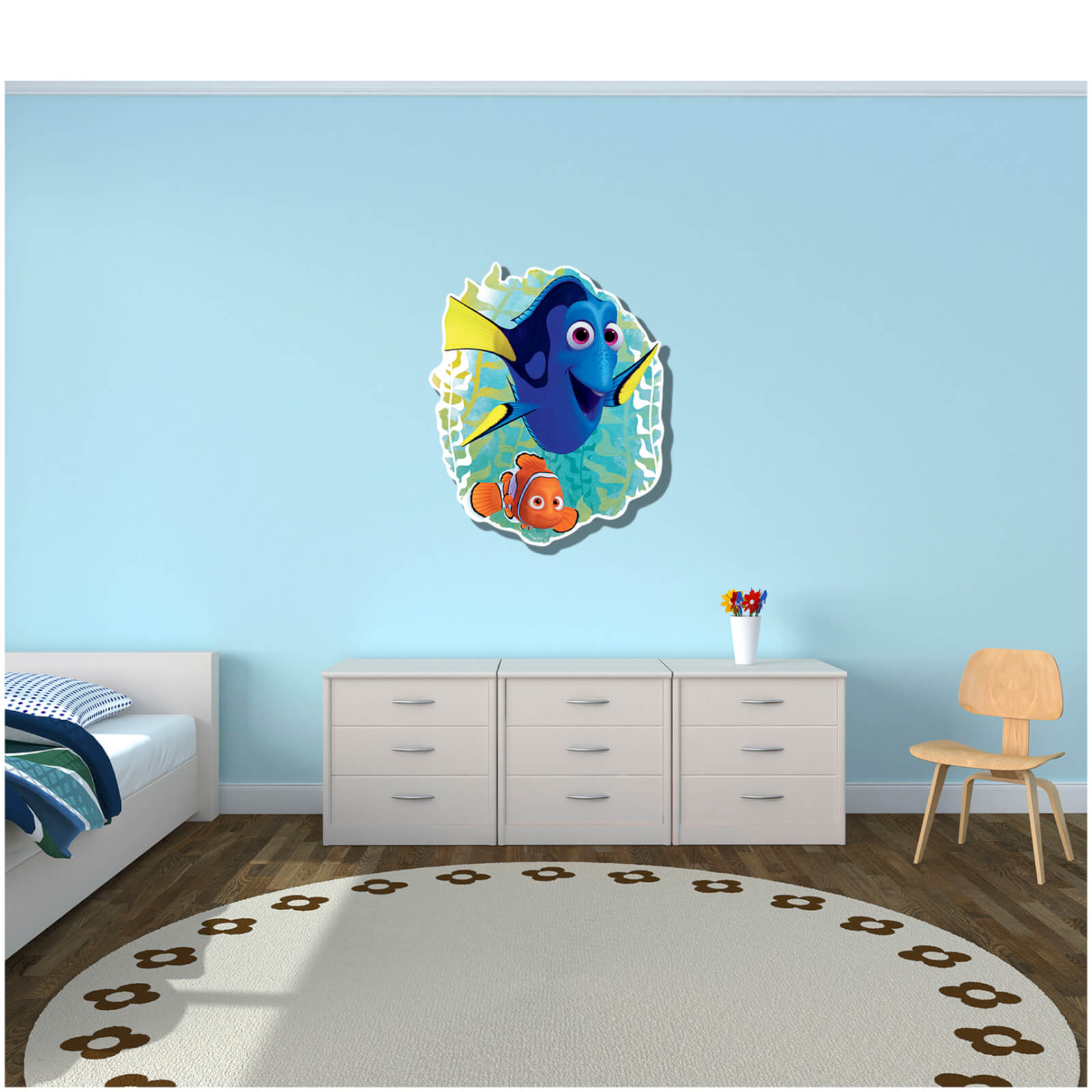 Disney Finding Dory with Nemo Wall Art