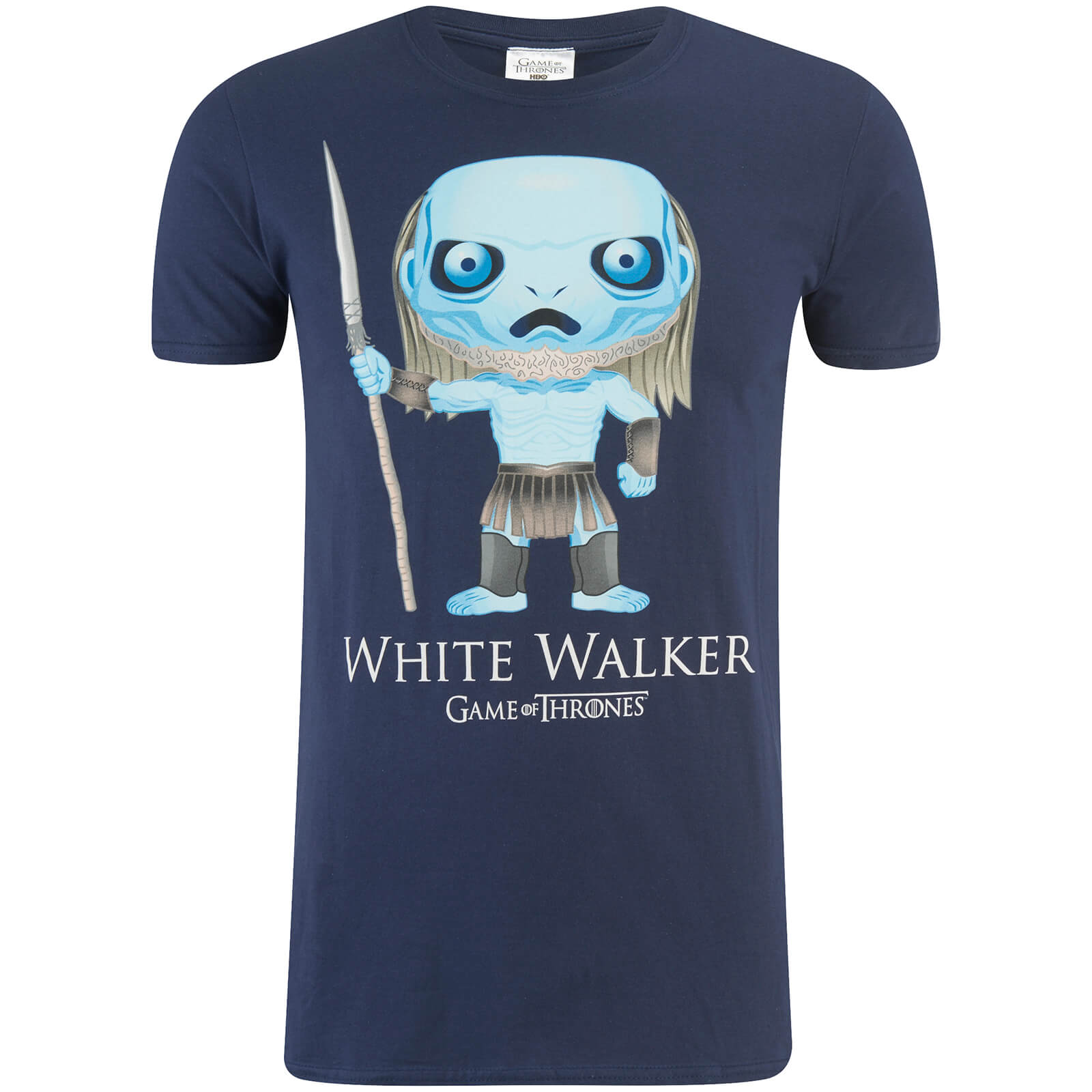 T-Shirt Homme Game of Thrones Walker Funko - Bleu Marine