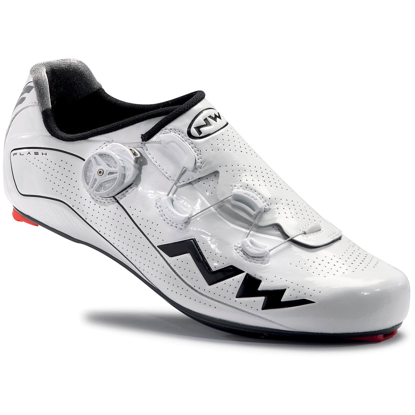 Northwave Flash Carbon Cycling Shoes - White