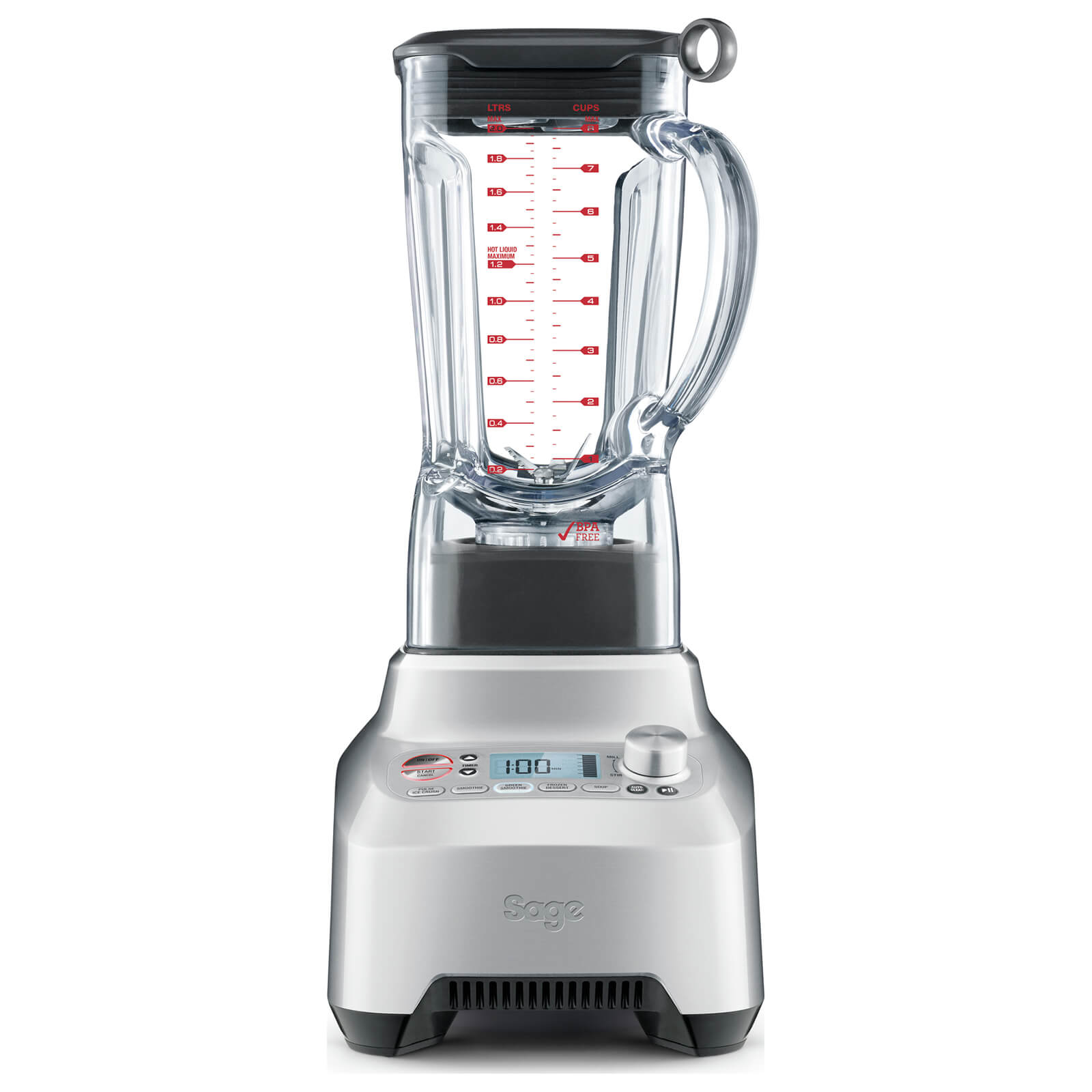 Sage by Heston Blumenthal BBL915UK The Boss Blender - Silver