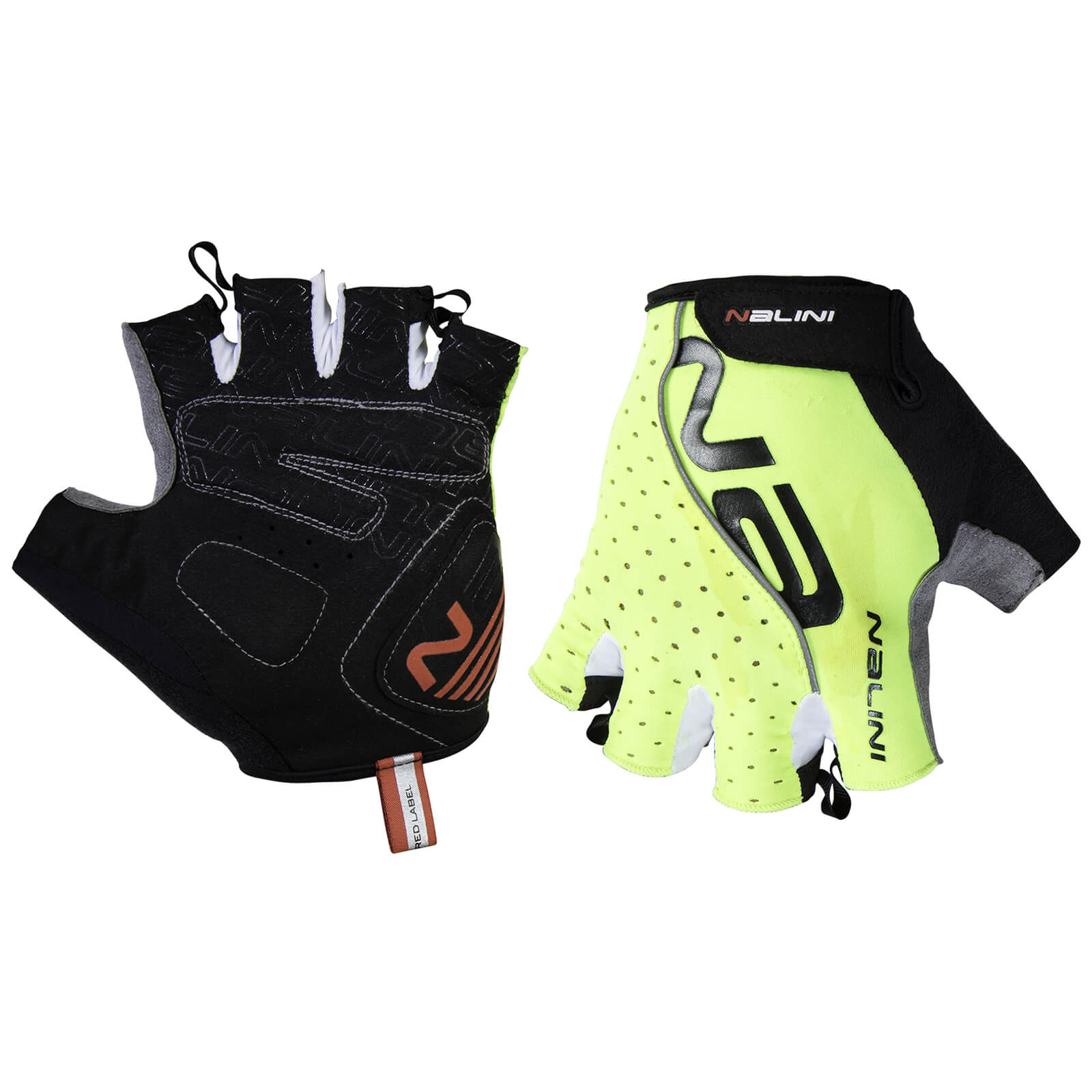 Nalini Red Mitts - Fluro Yellow