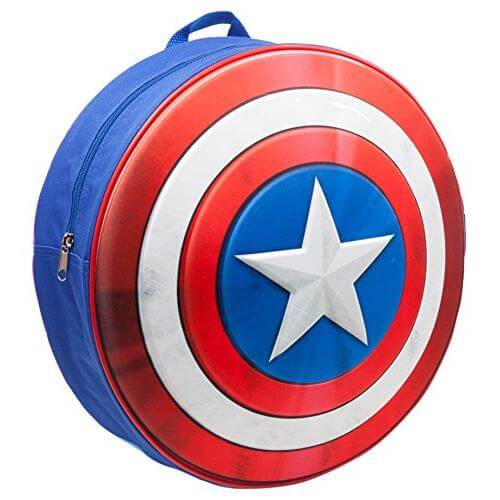 Captain America Shield Molded Backpack