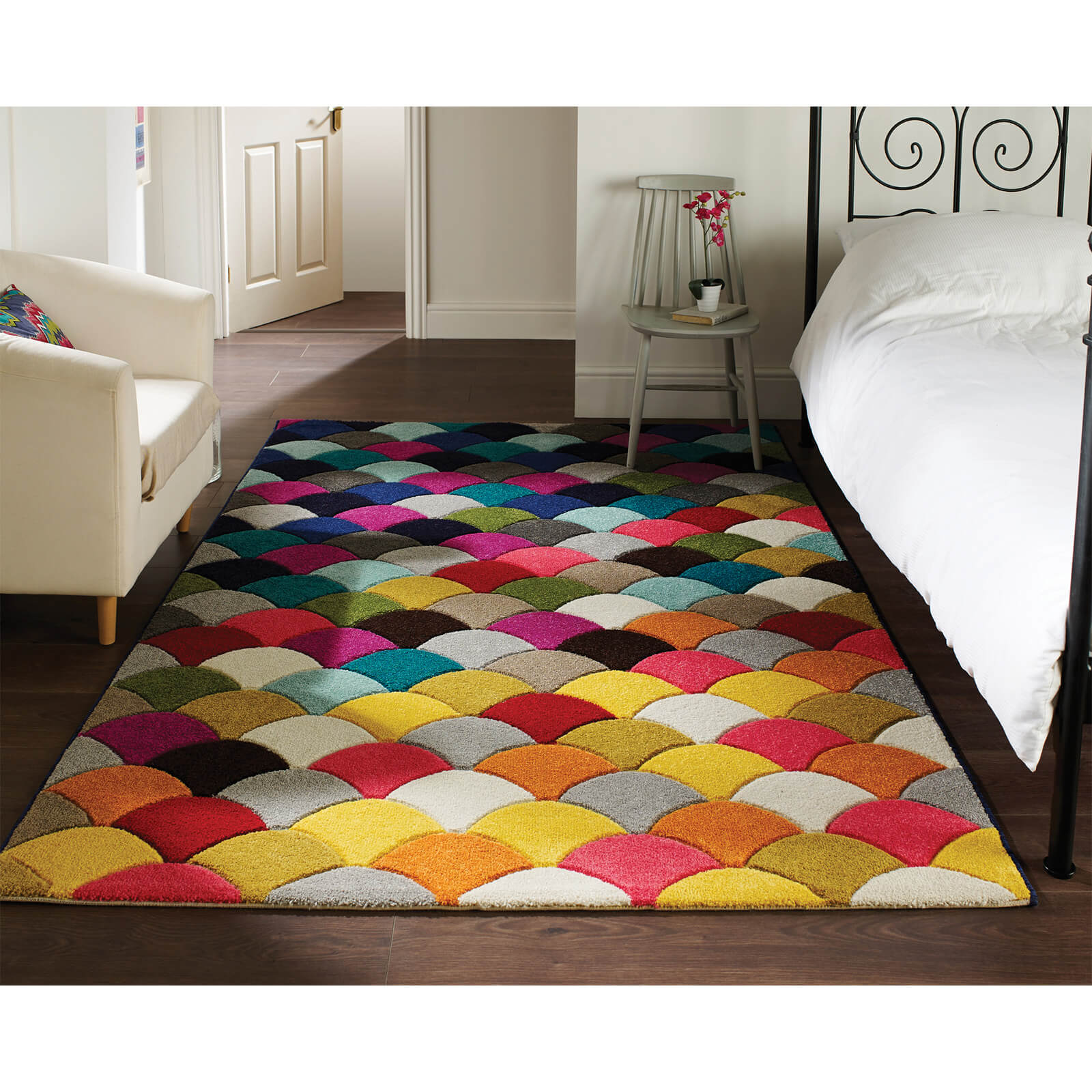 Flair Spectrum Jive Rug - Multi