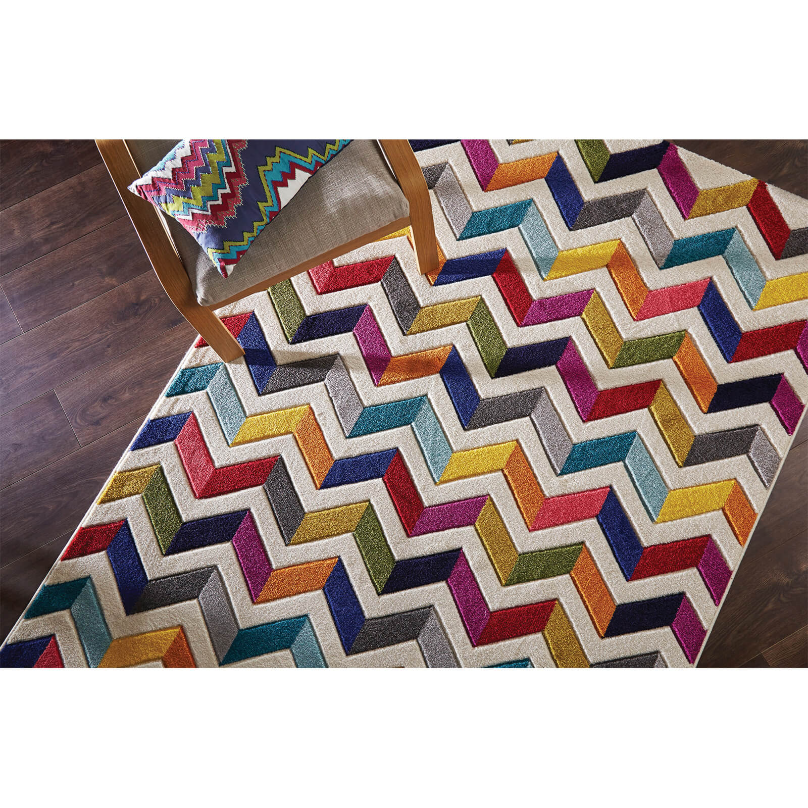 Flair Spectrum Bolero Rug - Multi