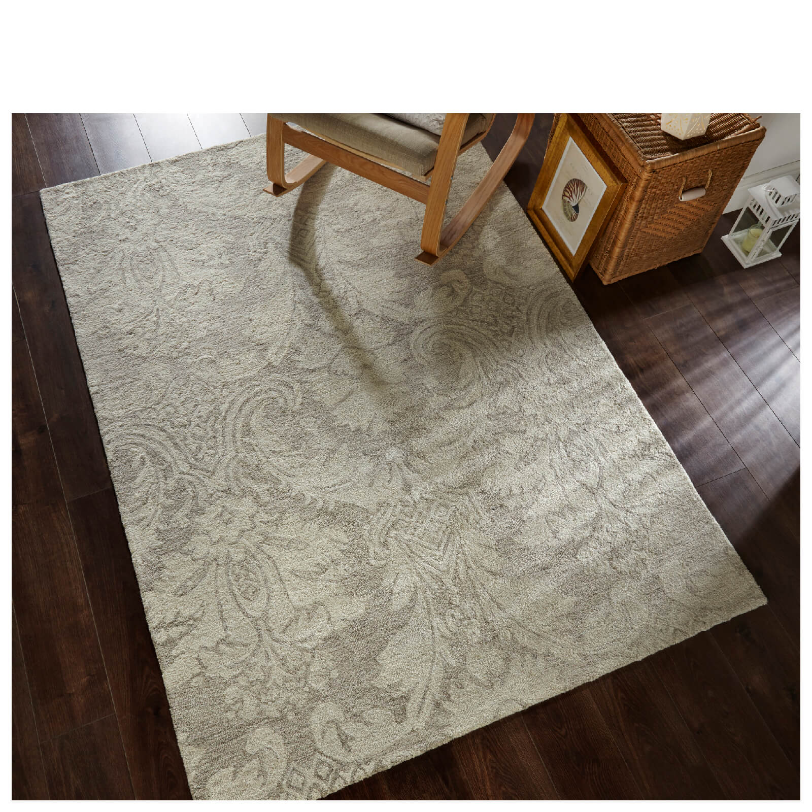 Flair Vintage Deco Rug - Lalique Natural