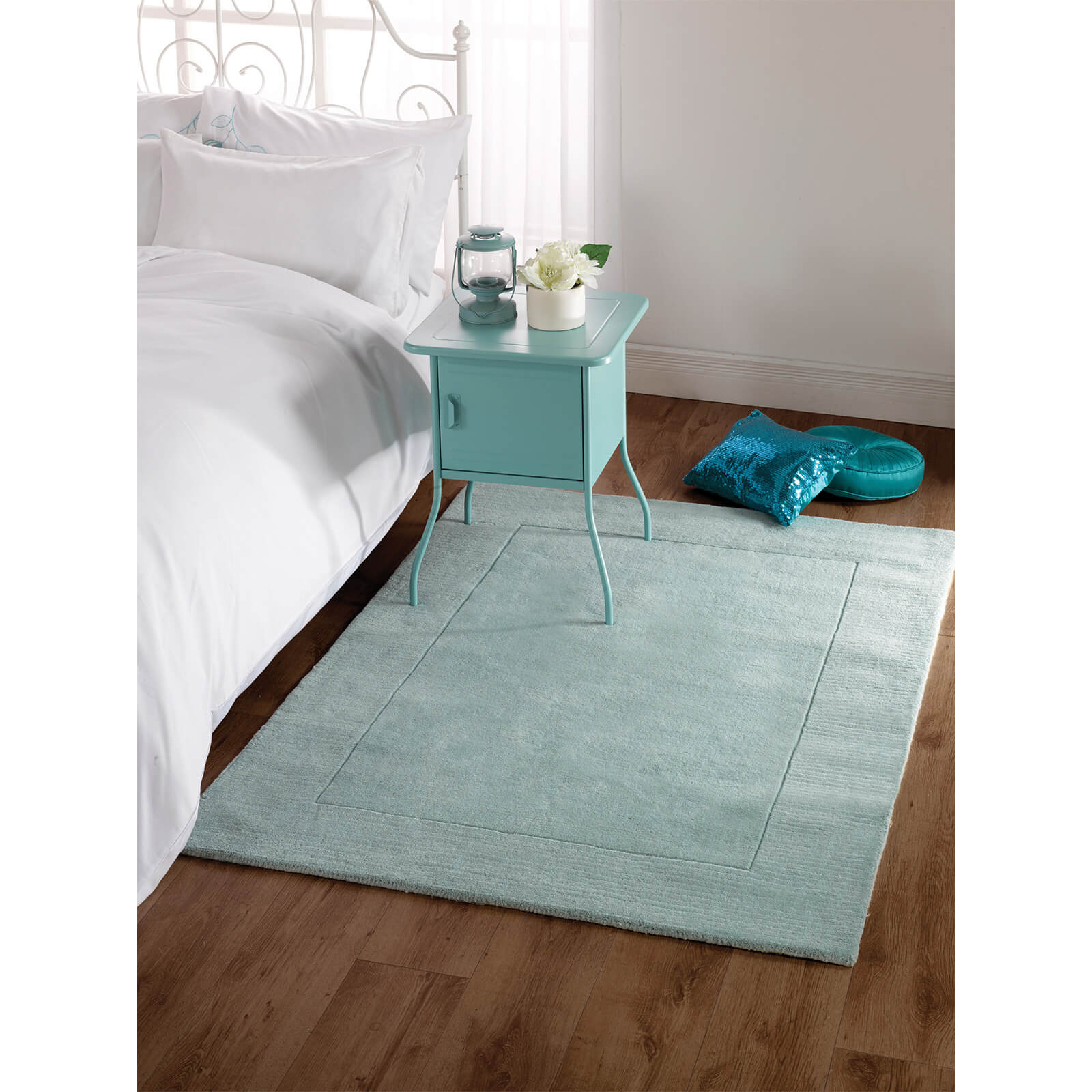 Flair Tuscany Siena Rug - Duck Egg