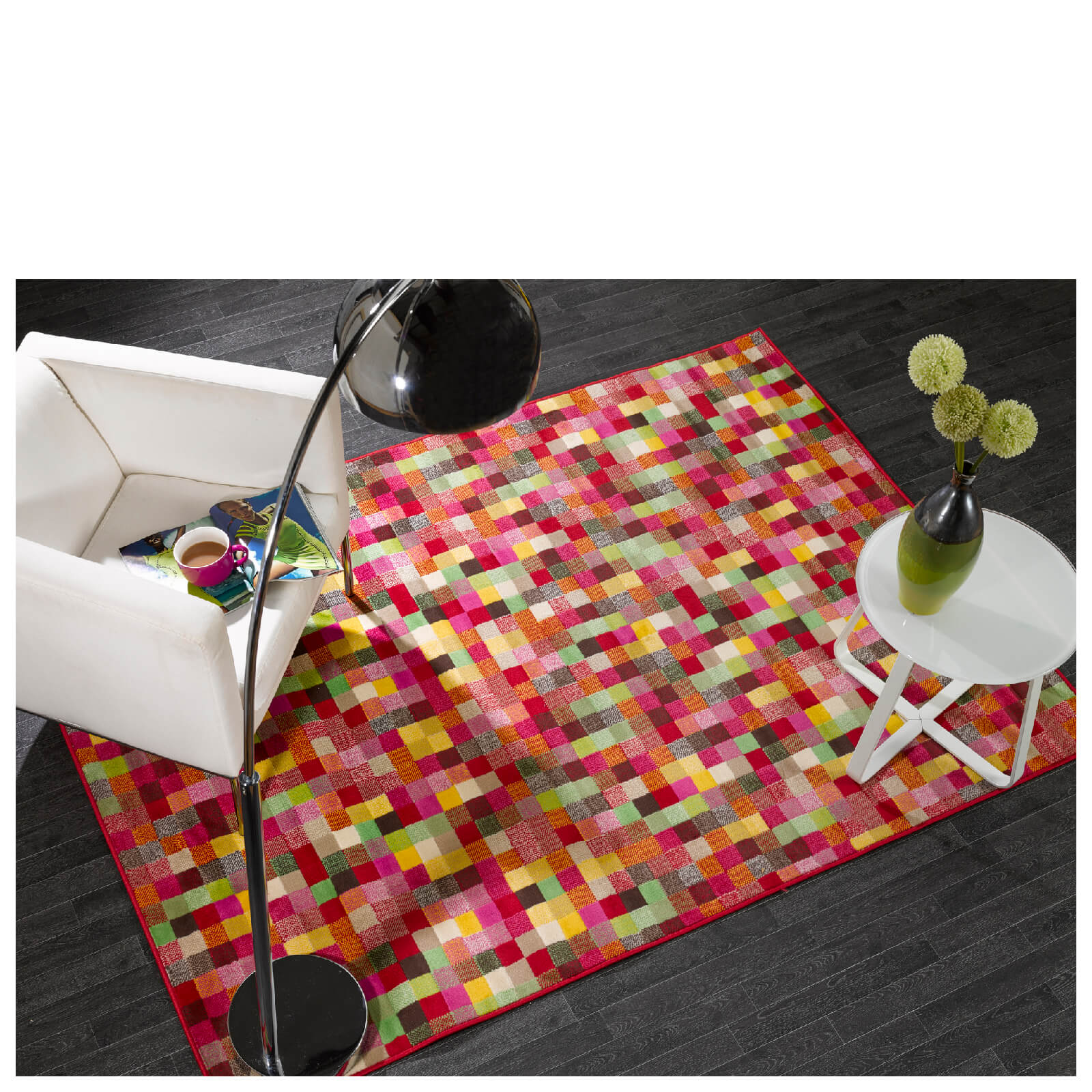 Flair Element Rug - Pixel Multi