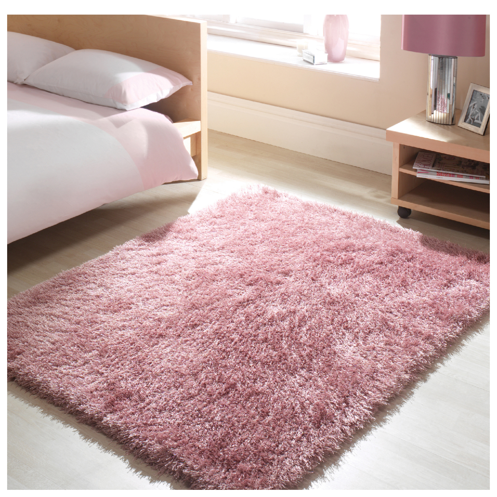 Flair Santa Cruz Rug - Summertime Crushed Strawberry