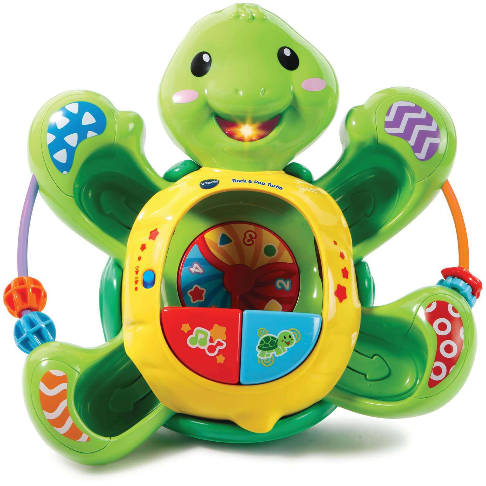 vtech baby  Vtech Baby Pop-A-Ball Rock & Pop Turtle Toys | Zavvi US