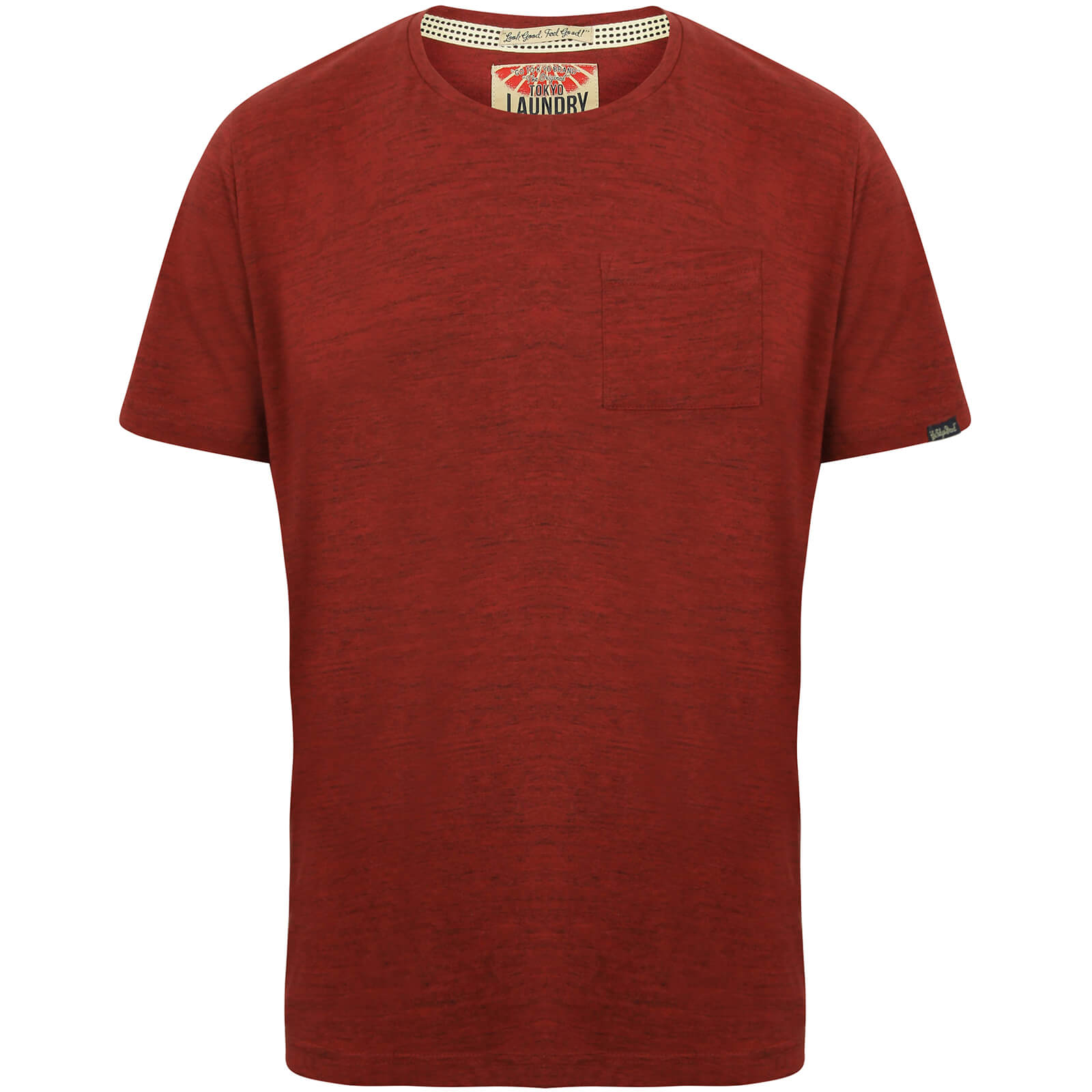 T-Shirt Homme Grotto Tokyo Laundry -Rouge