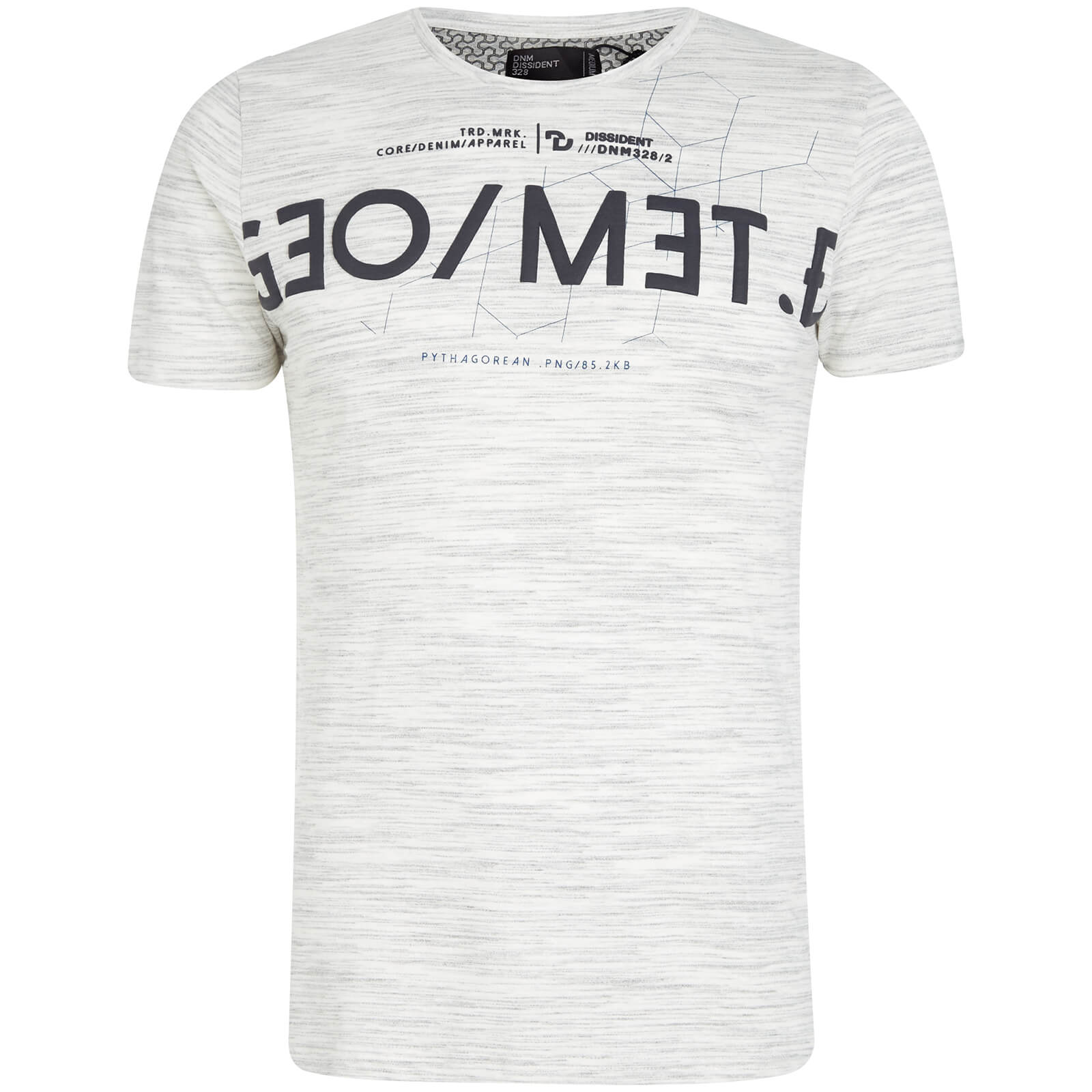 T-Shirt Homme Octagon Dissident - Gris
