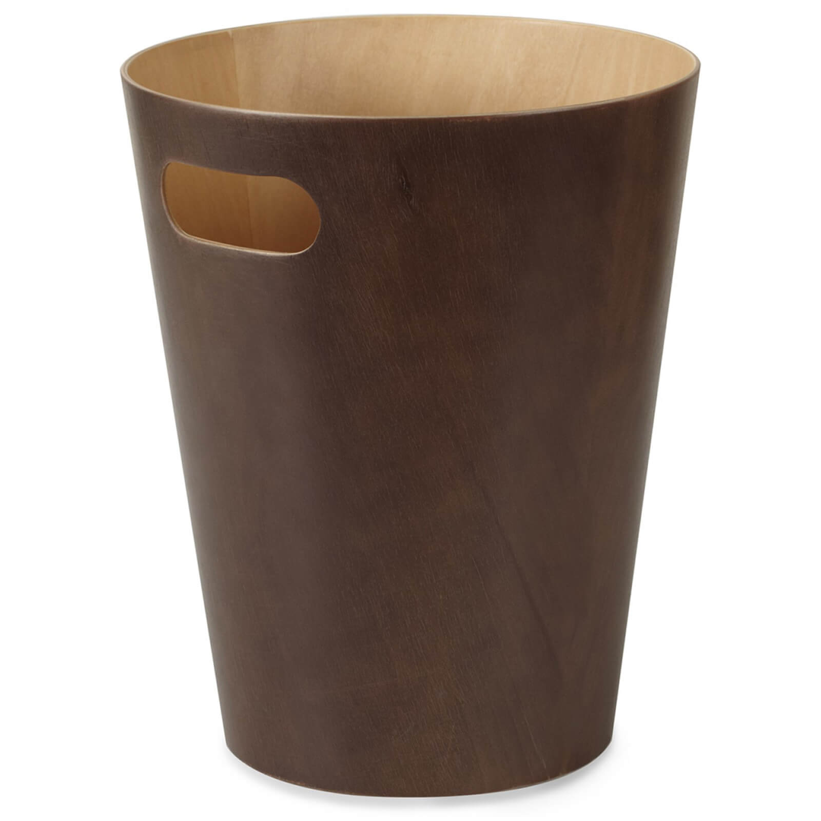 Umbra Woodrow Waste Can - Espresso