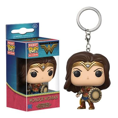 Porte-Clef Pocket Pop! Wonder Woman - DC Comics