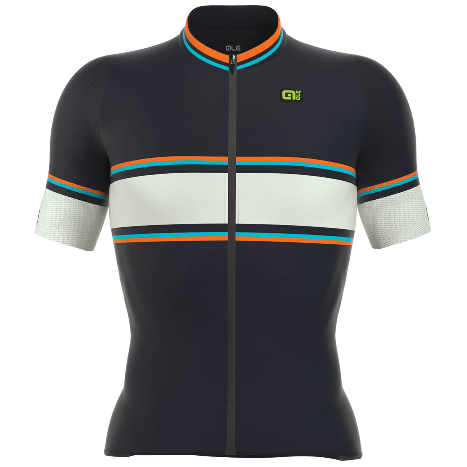 Alé PRR 2.0 Speed Fondo Jersey - Blue/Orange