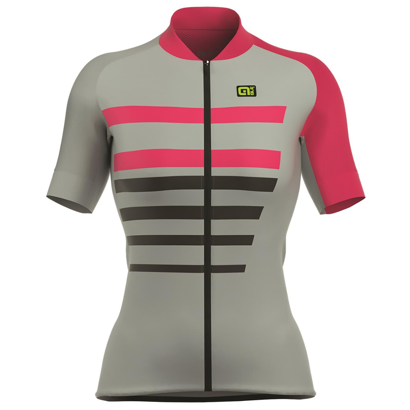 Alé Women s PRR 2.0 Piuma Jersey - Grey Pink  7afc9a136