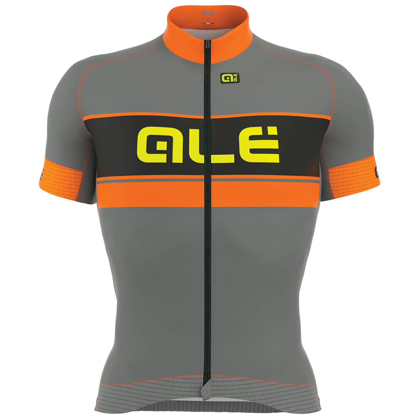 Alé Graphics PRR Bermuda Jersey - Grey/Orange