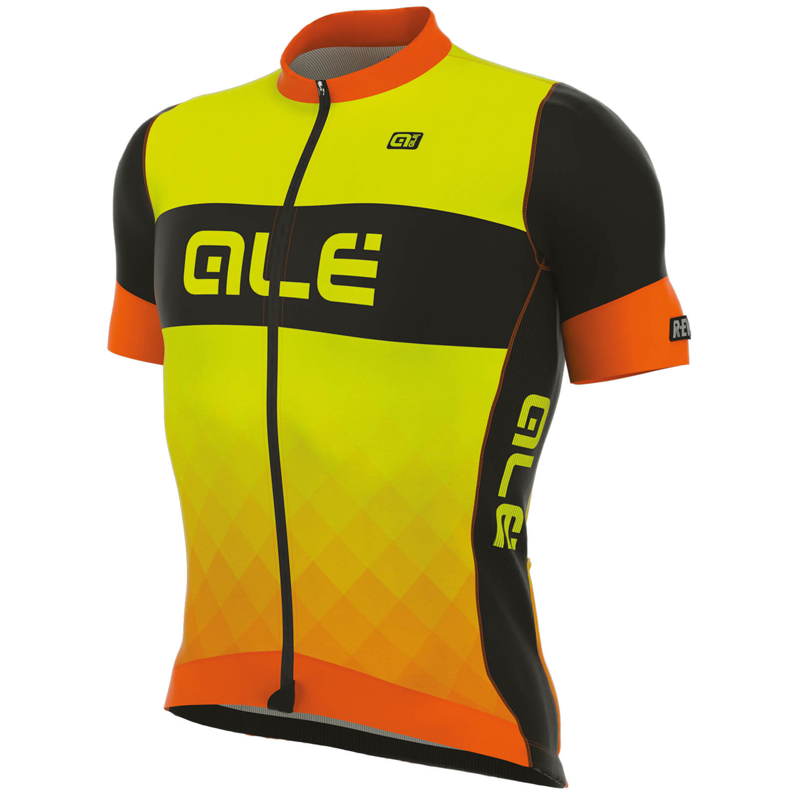 Alé R-EV1 Rumbles Jersey - Yellow/Orange