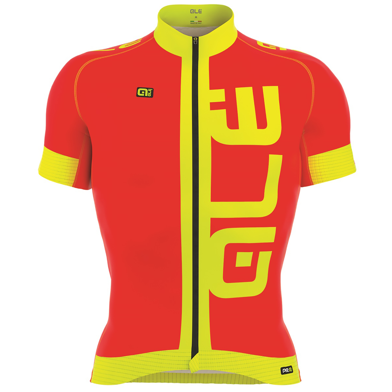 Alé PRR 2.0 Arcobaleno Jersey - Red/Yellow