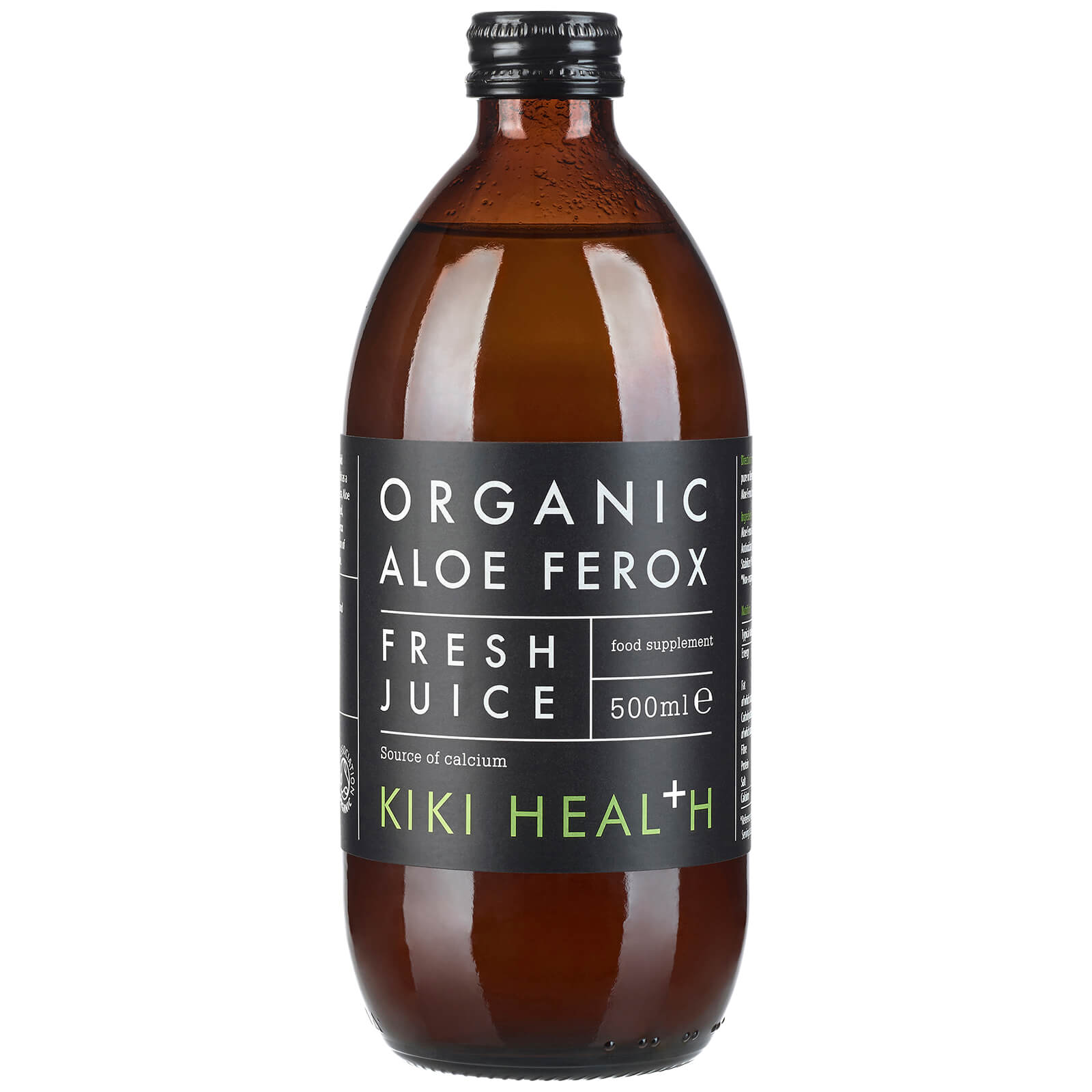 KIKI Health Organic Aloe Ferox Juice 500ml