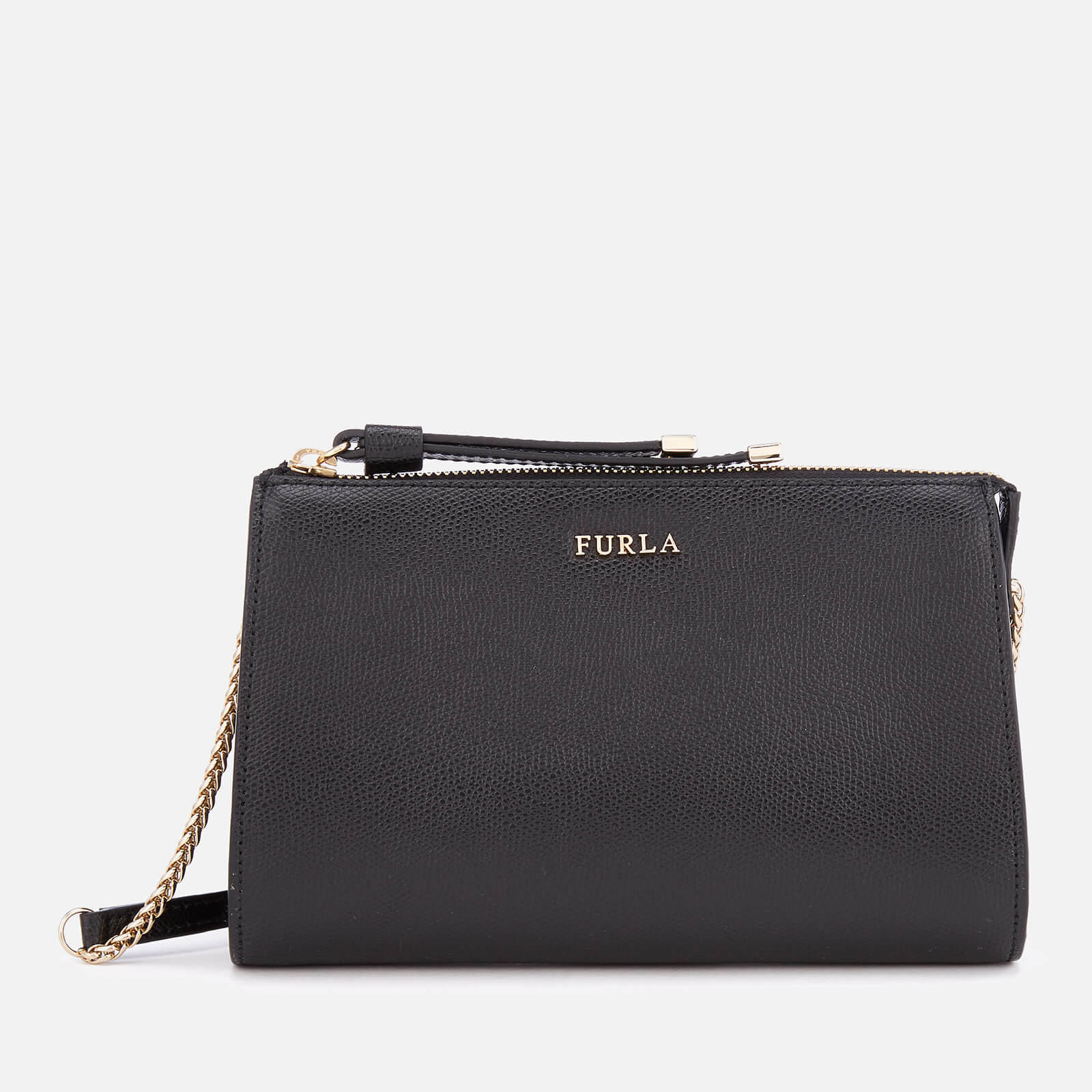 Furla Women's Luna Xl Cross Body Bag Pouch - Black 原價185英鎊 優惠價148