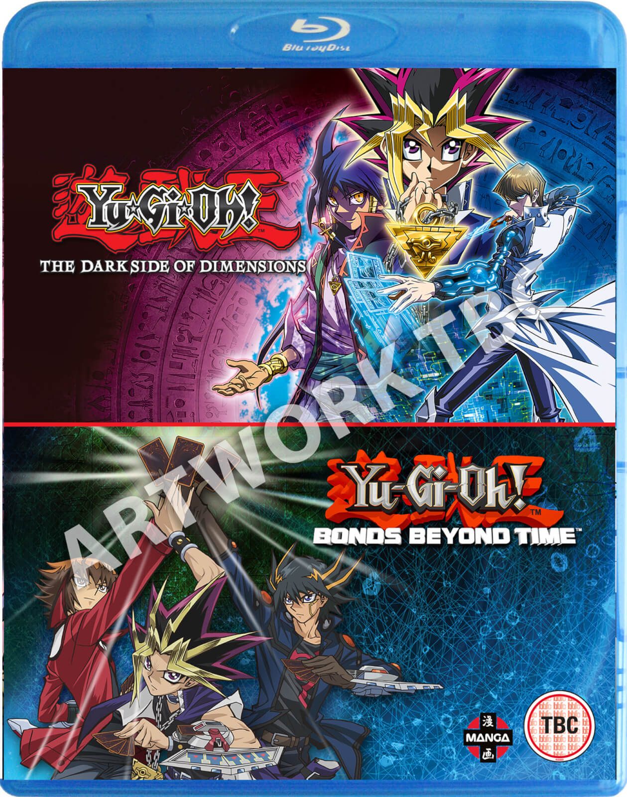 Yu-Gi-Oh! Movie Double Pack: Bonds Beyond Time/Dark Side of Dimensions