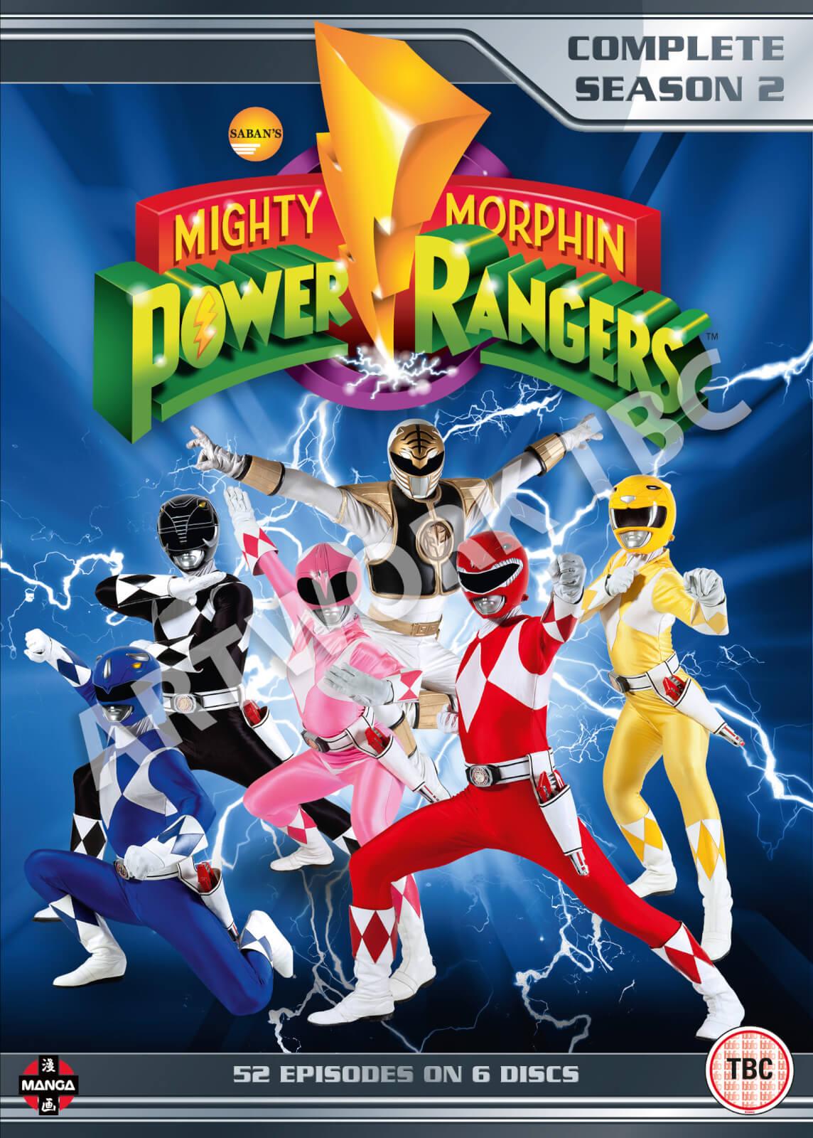 9acda9f73 Mighty Morphin Power Rangers - Season 2 DVD   Zavvi