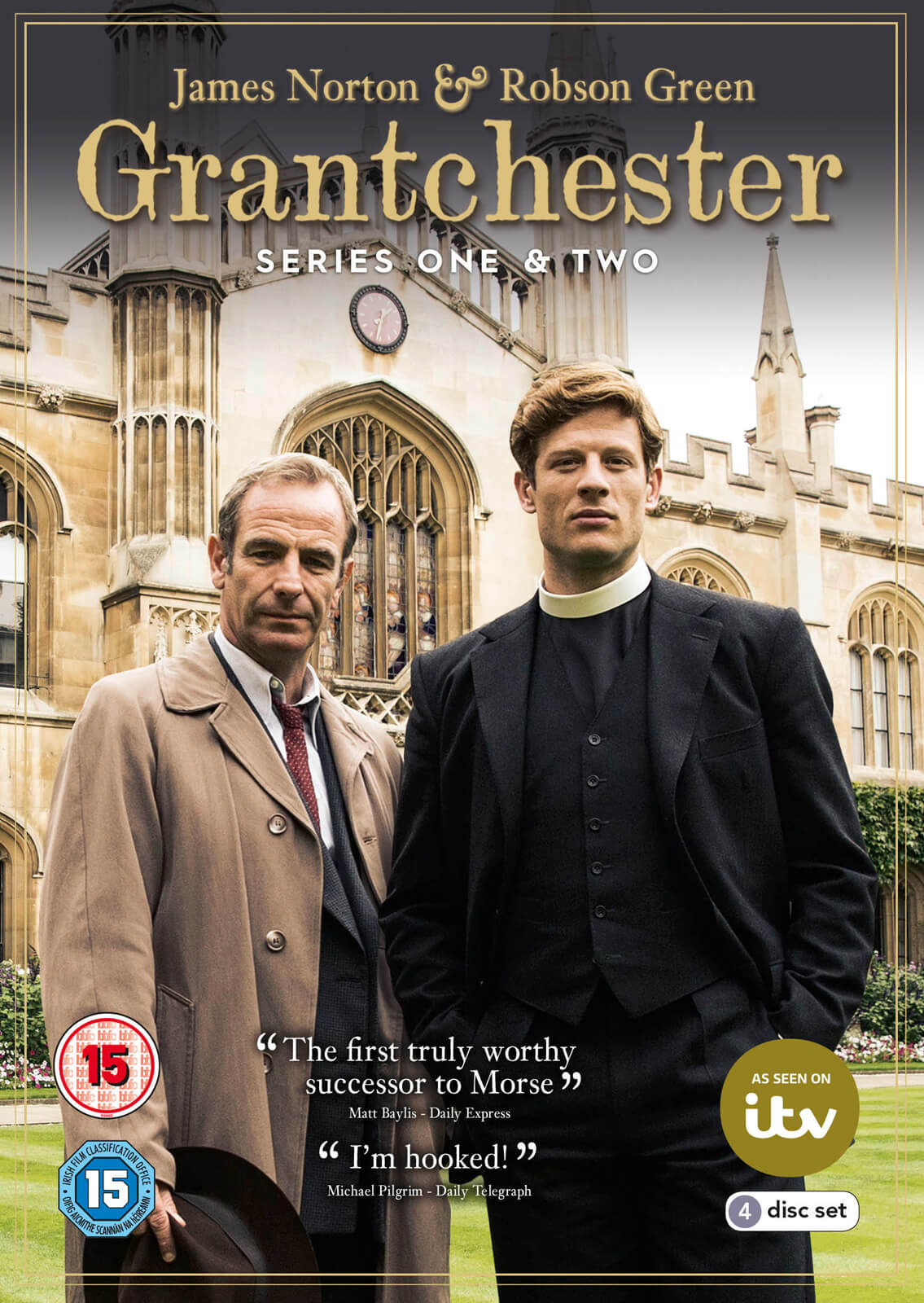 Grantchester - Series 1 & 2 Boxed Set
