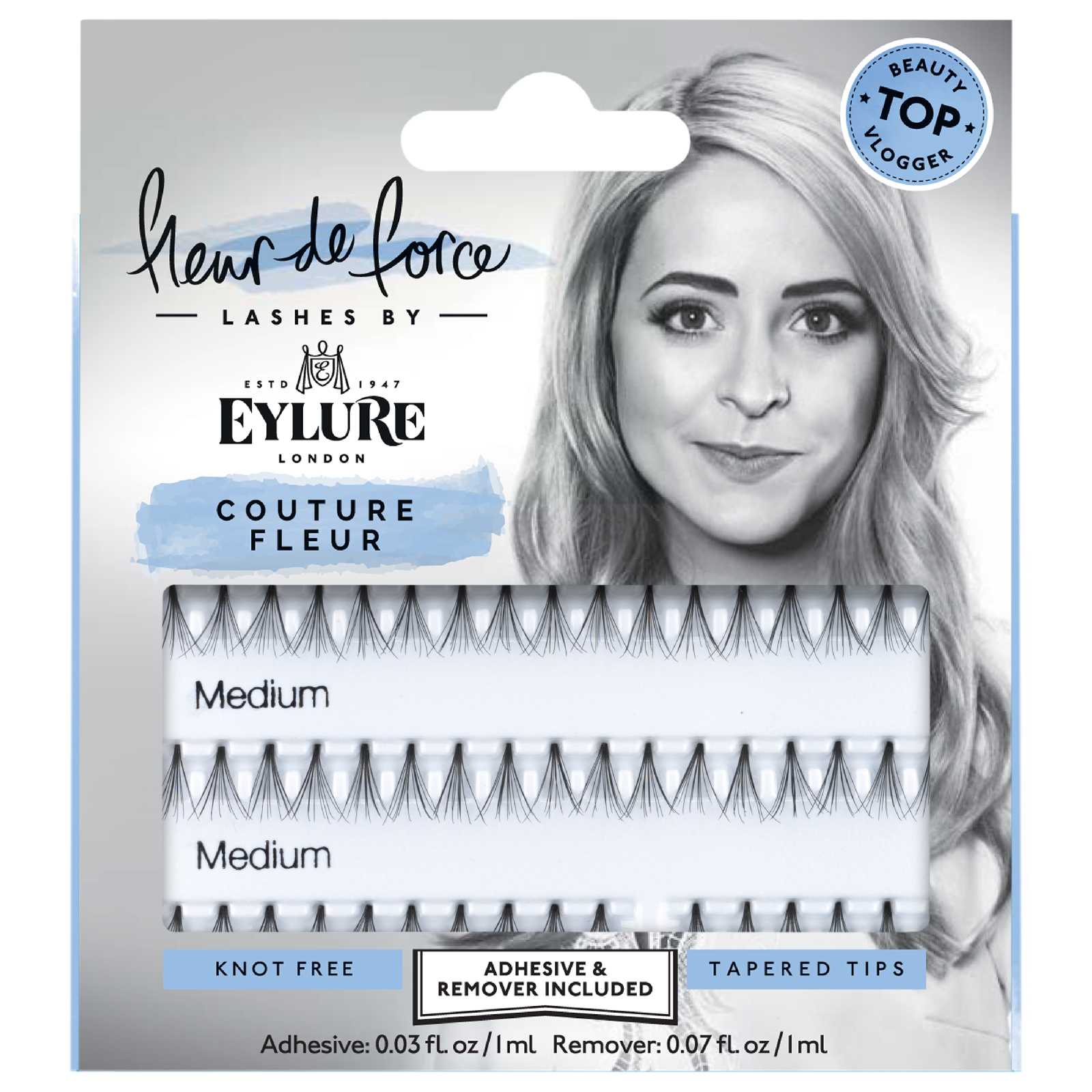 50ae8bdd6e1 Fleur de Force By Eylure Lashes - Couture Fleur (Individual Lashes) | Free  Shipping | Lookfantastic