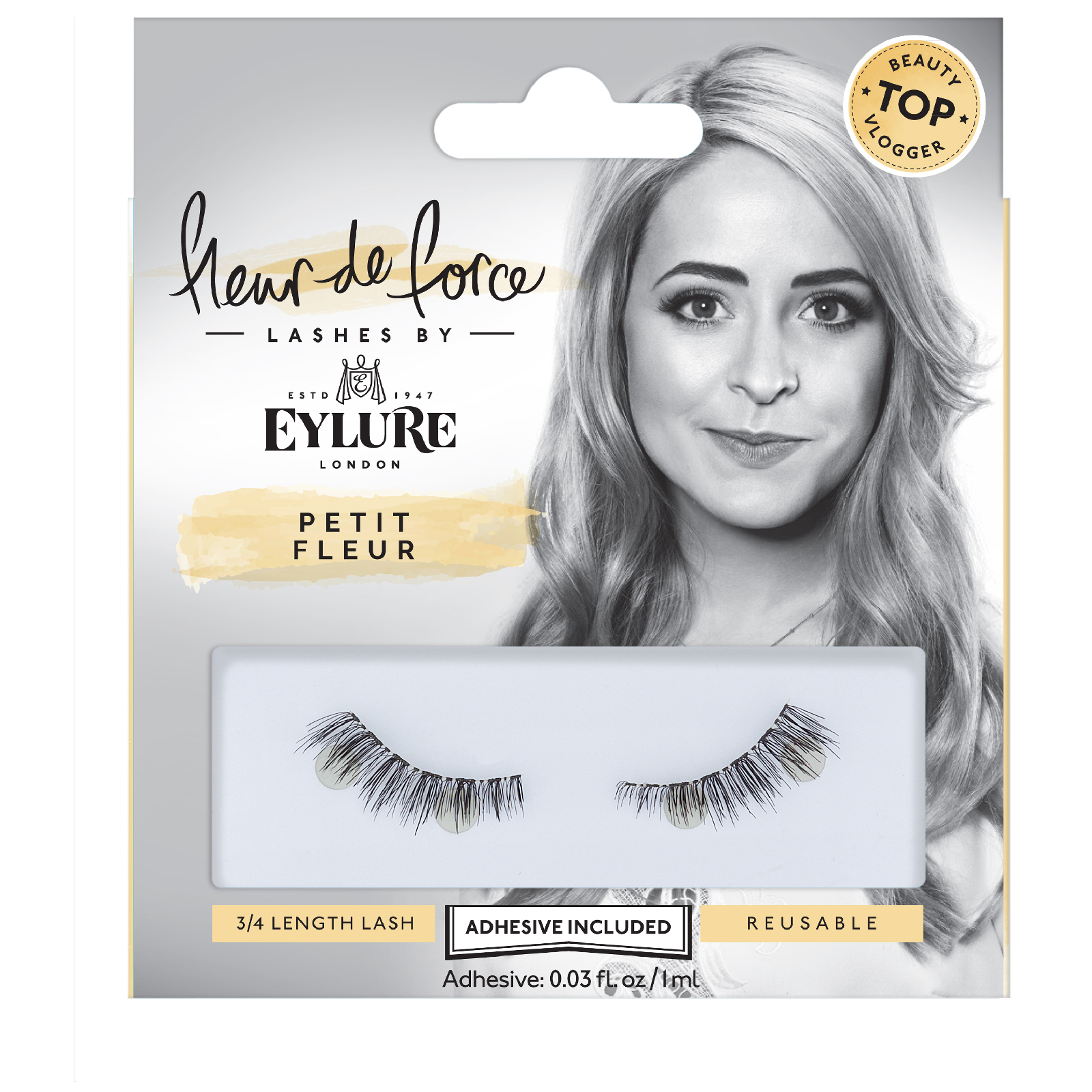 ed5e81a95b9 Fleur de Force By Eylure Lashes - Petite Fleur | Free Shipping |  Lookfantastic