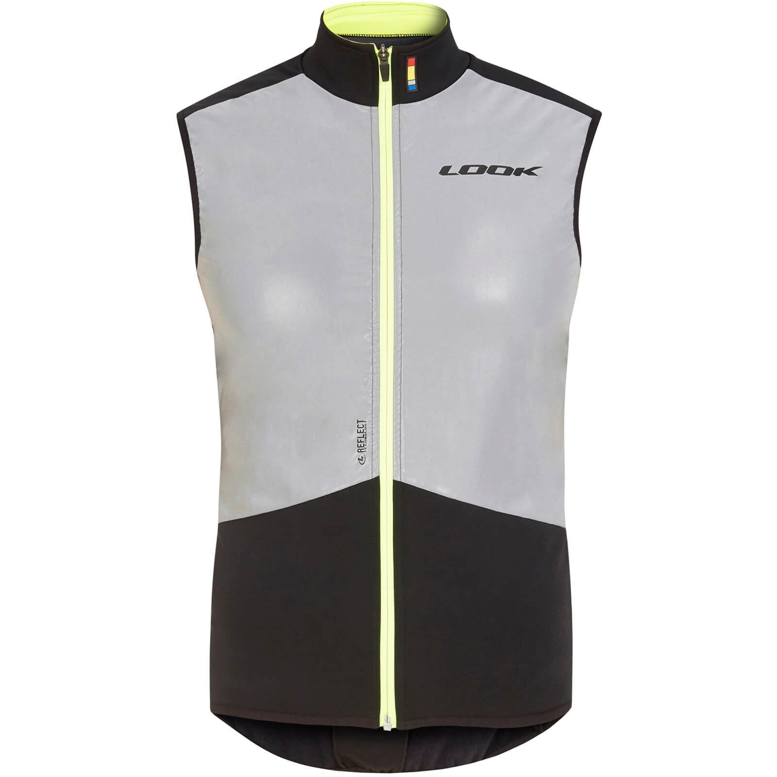 Look Illuminate Gilet - Silver