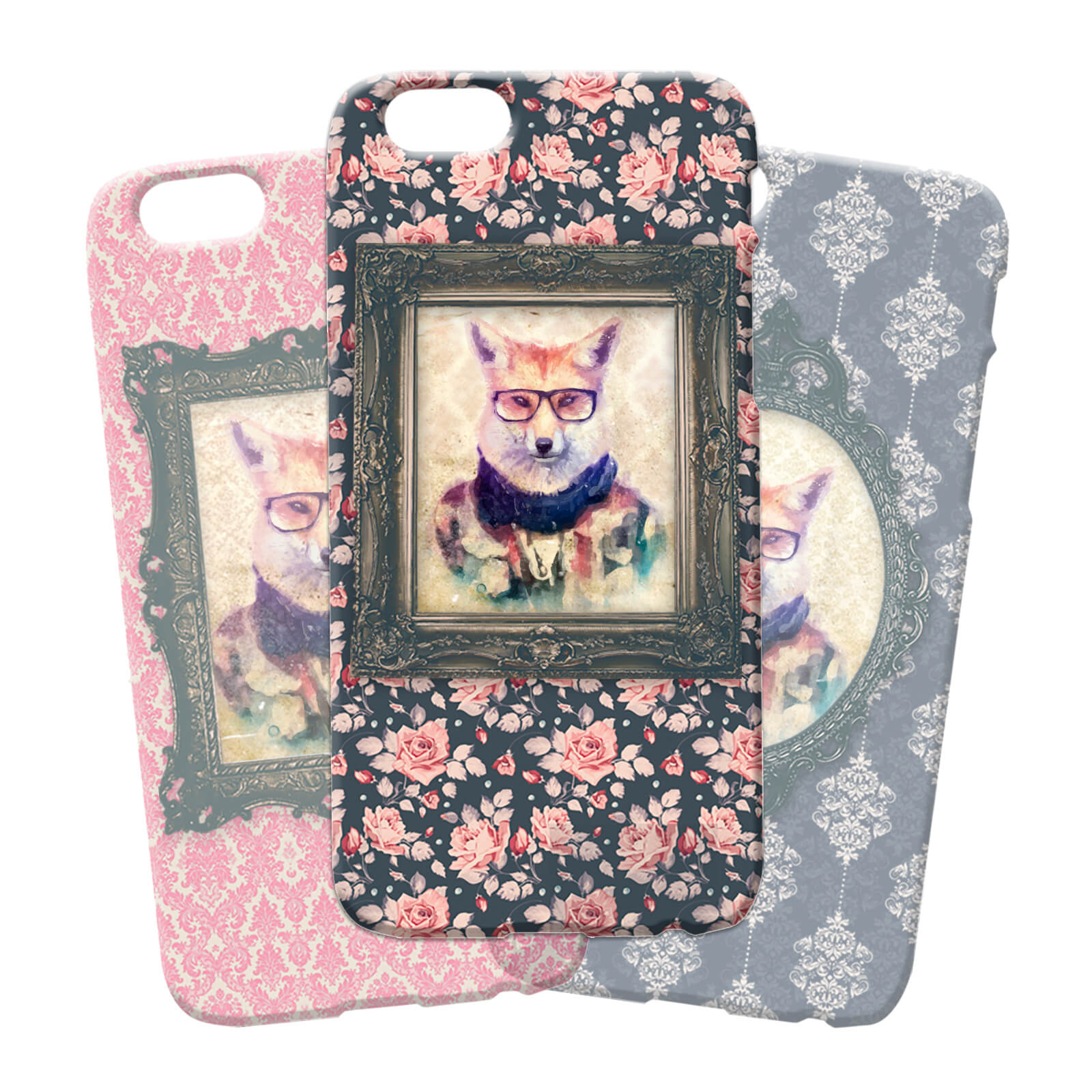 Fox Portrait Phone Case for iPhone and Android